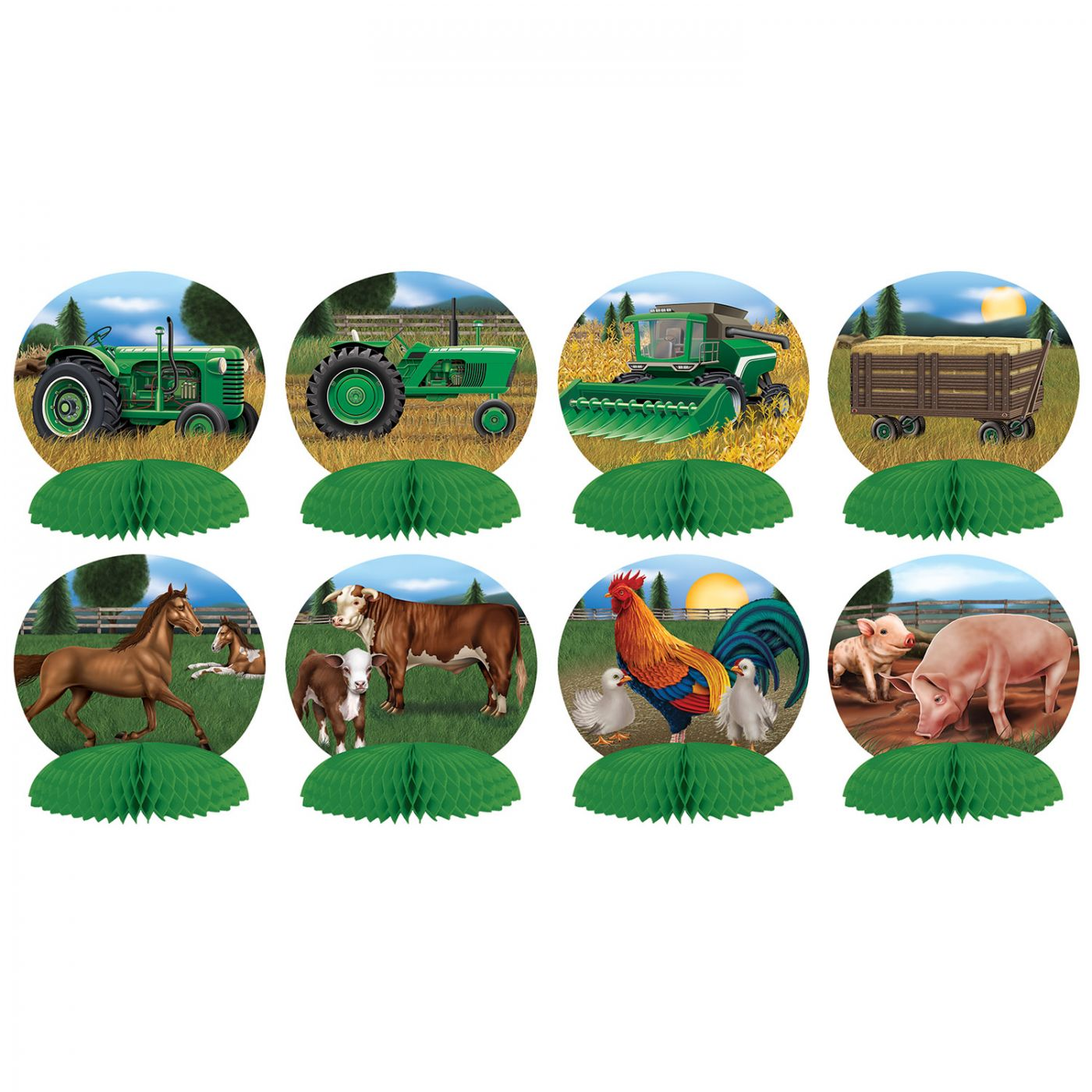Farm Mini Centerpieces image