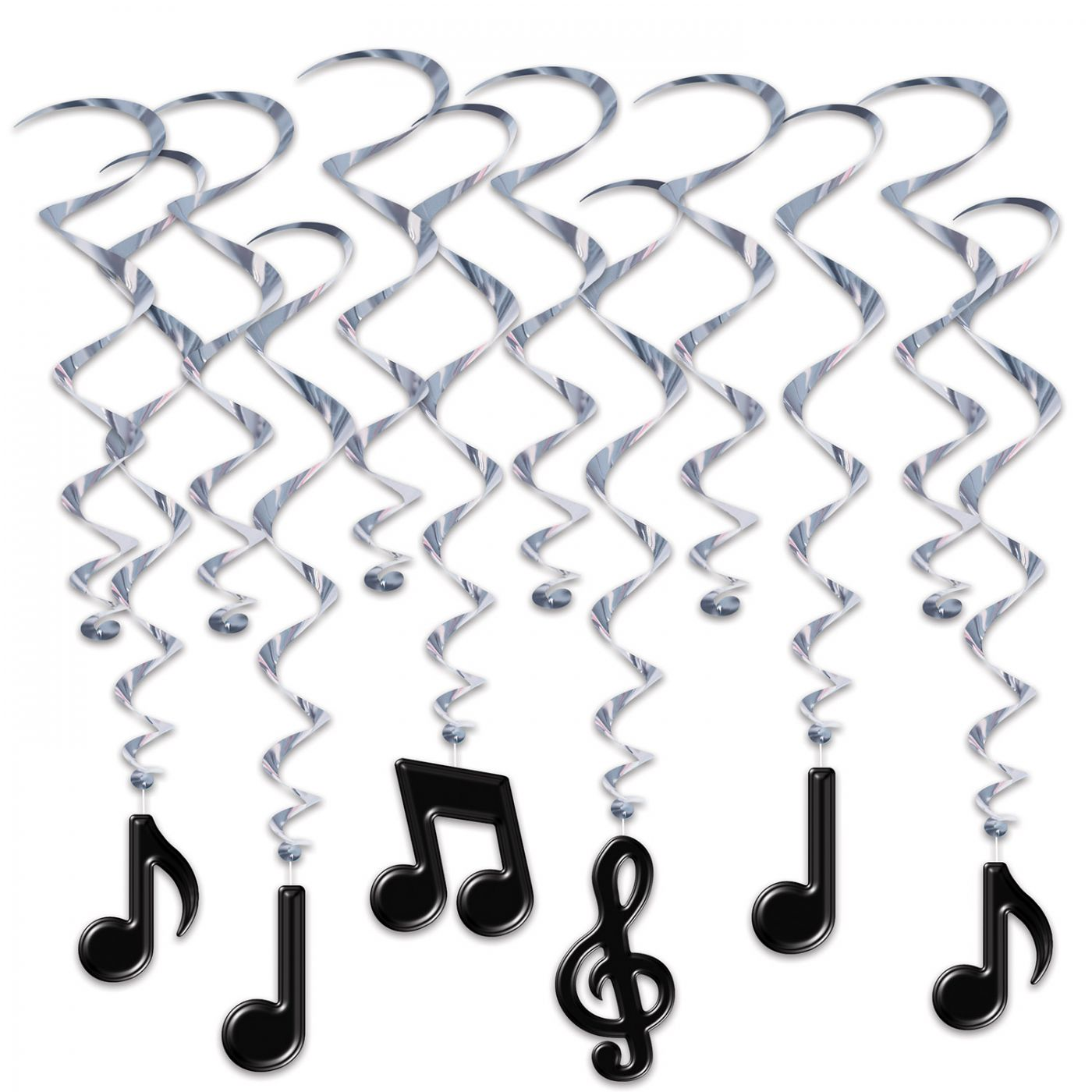 Musical Notes Whirls (6) image