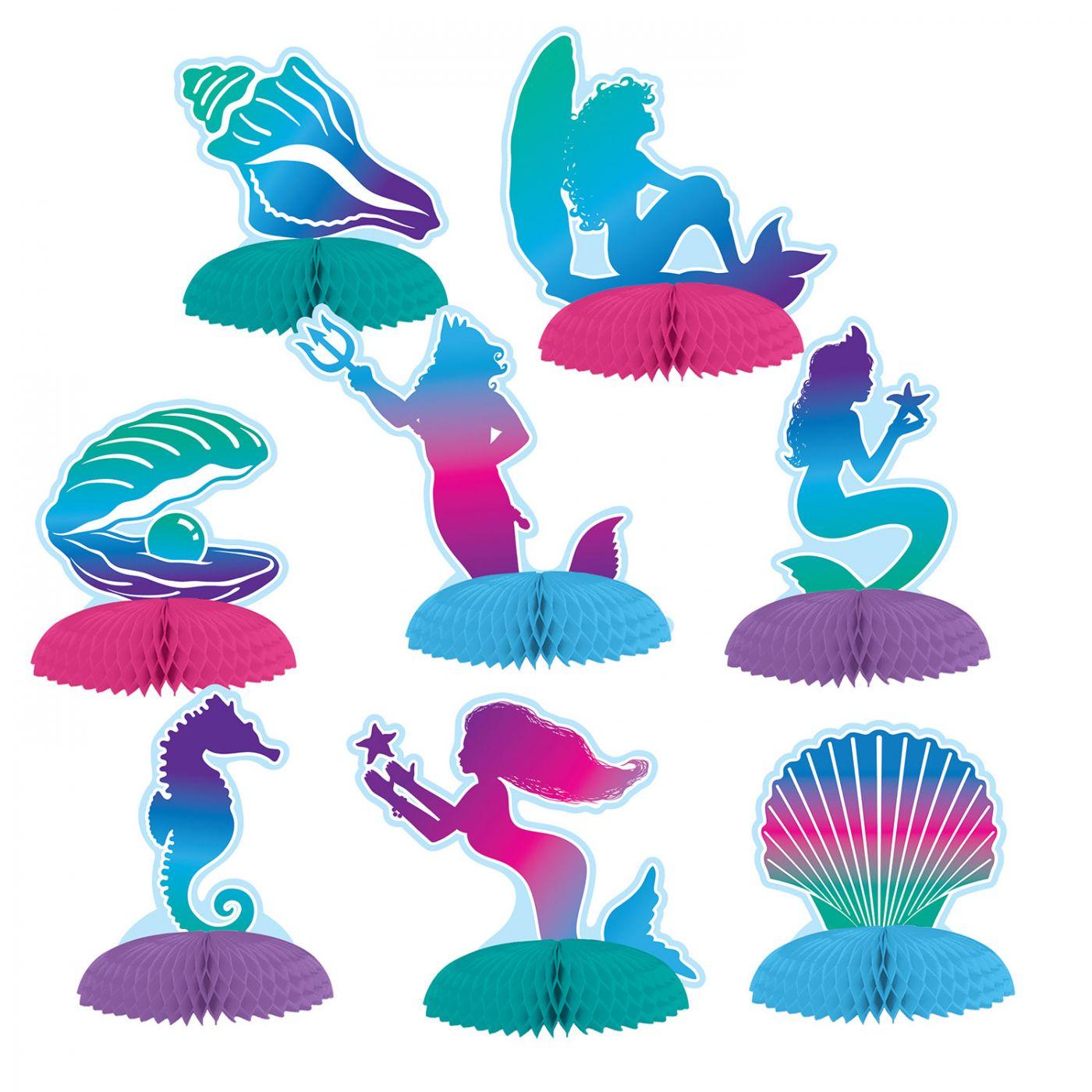Mermaid Mini Centerpieces image