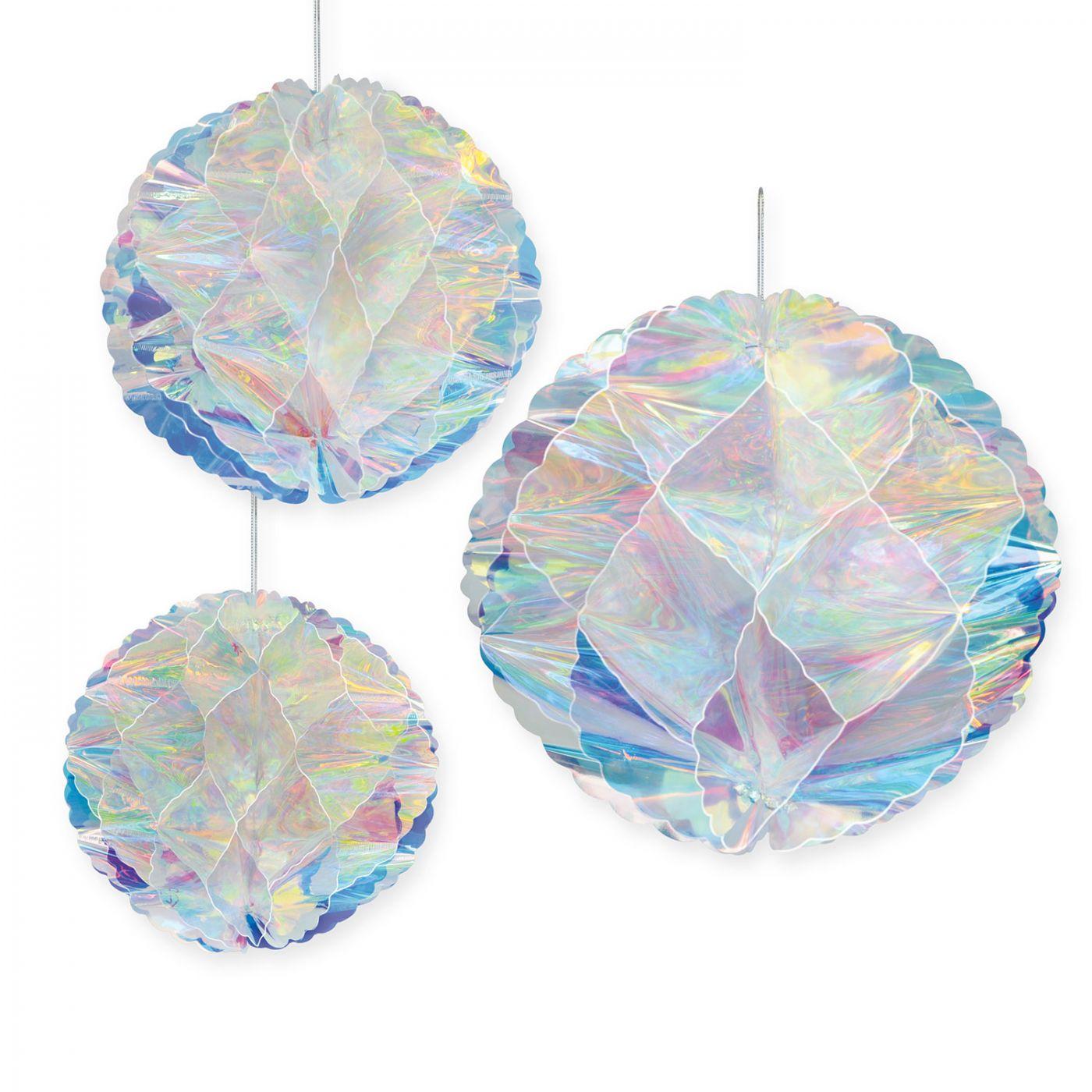Iridescent Honeycomb Balls (6) image