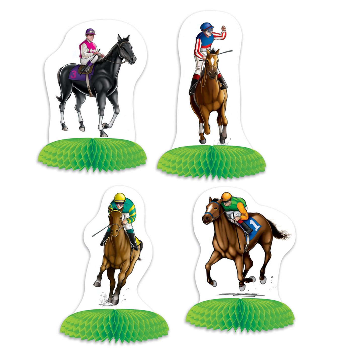 Horse Racing Mini Centerpieces image