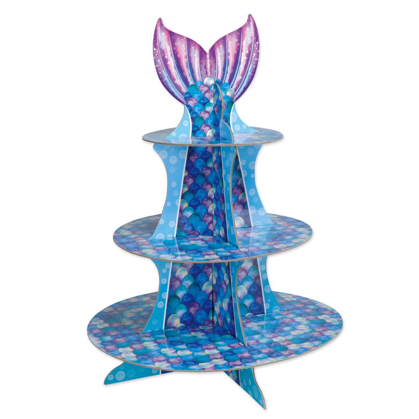 Mermaid Cupcake Stand image