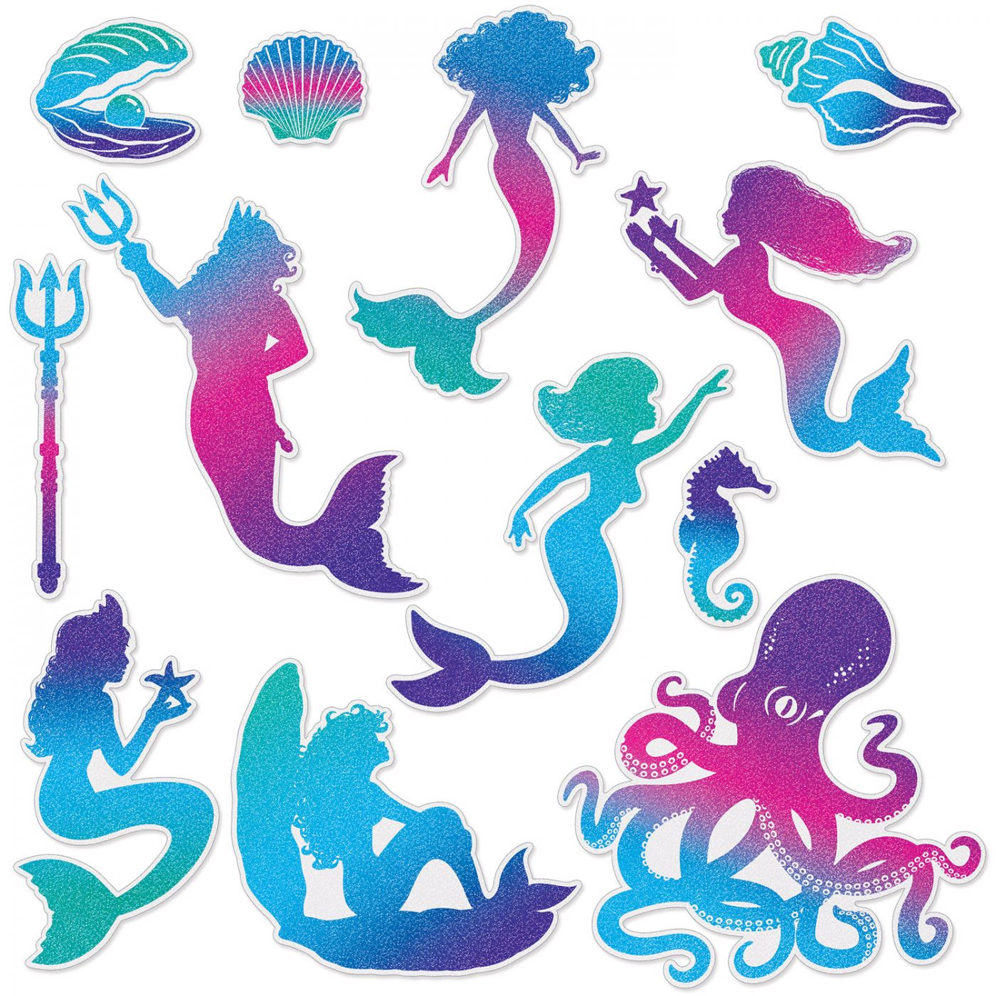 Mermaid Cutouts image