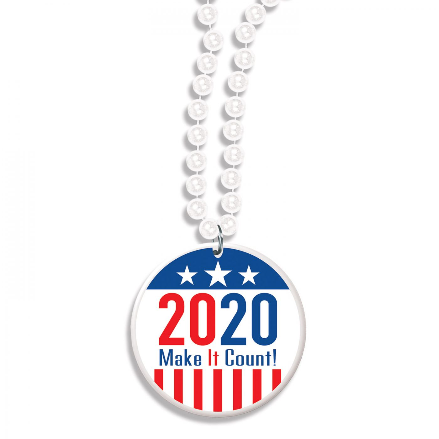 Image of Beads w/ 2020  Make It Count! Medallion