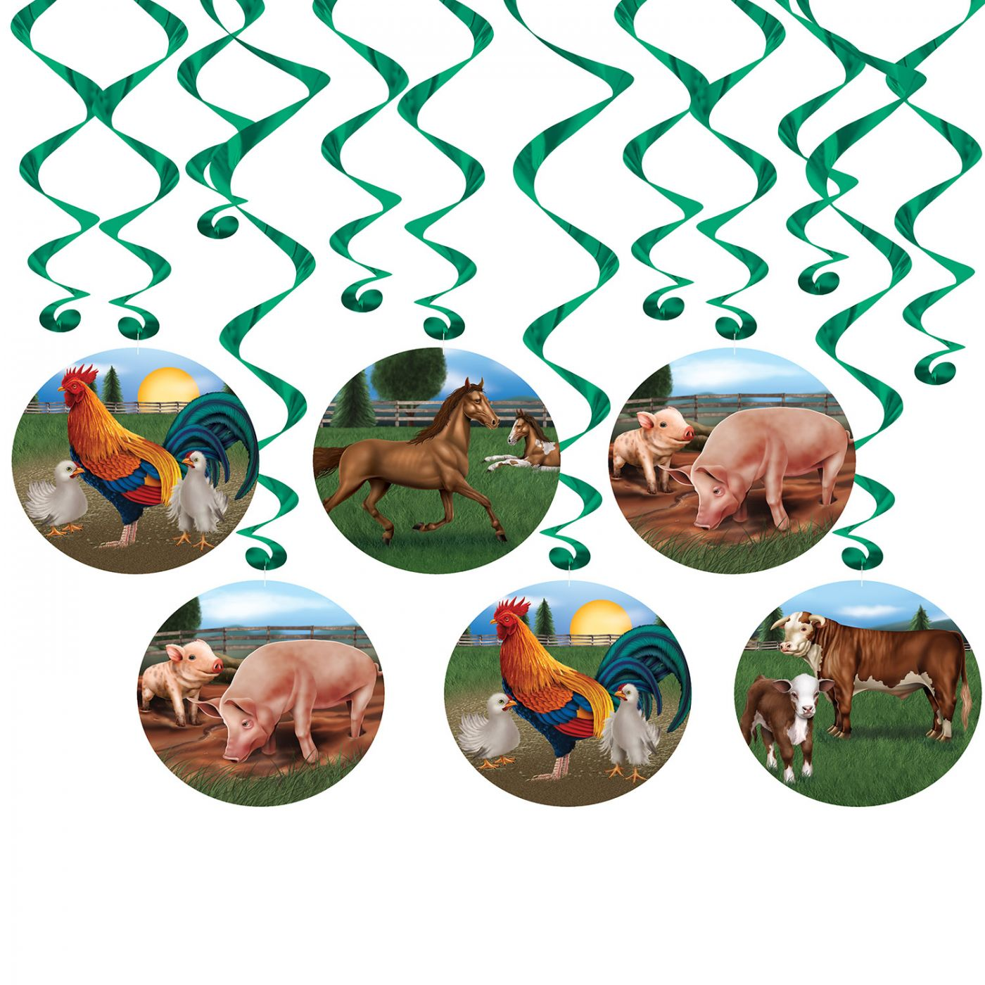 Farm Animal Whirls (6) image