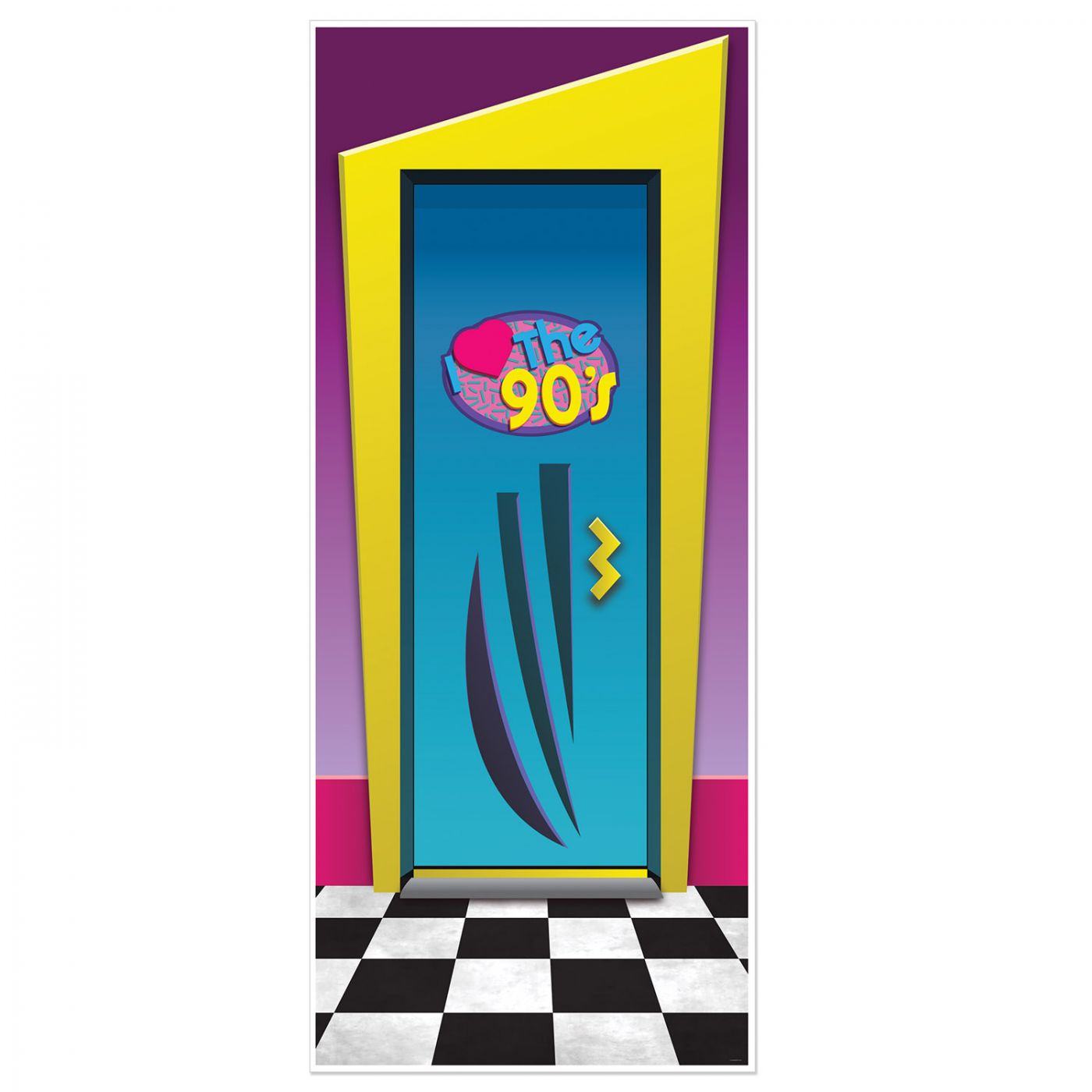 I Love The 90's Door Cover image