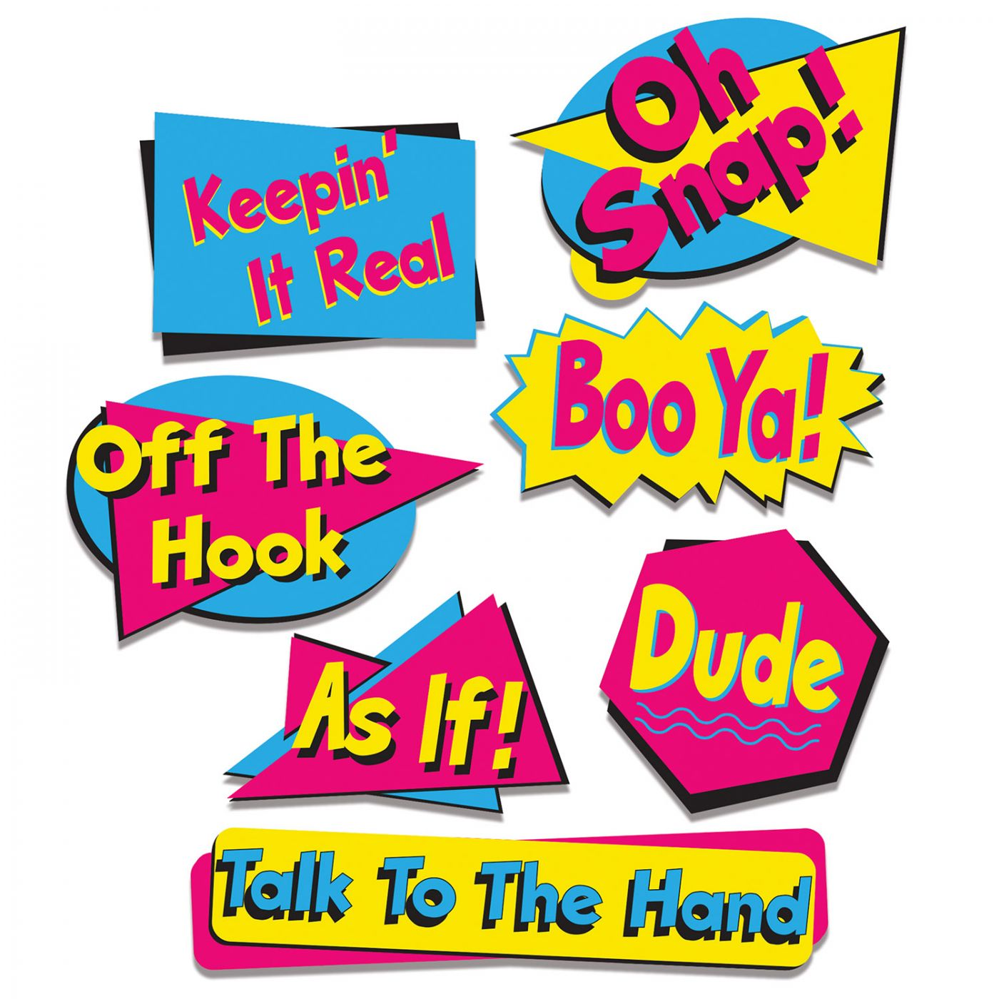 90's Phrase Cutouts image