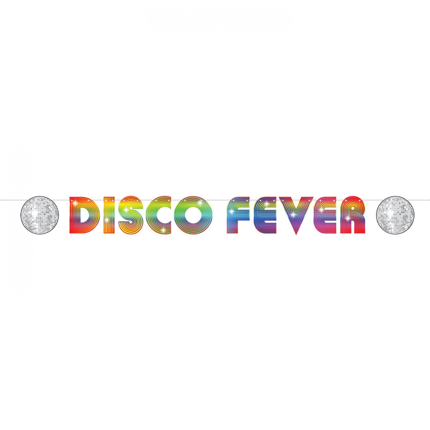70's Disco Fever Streamer image