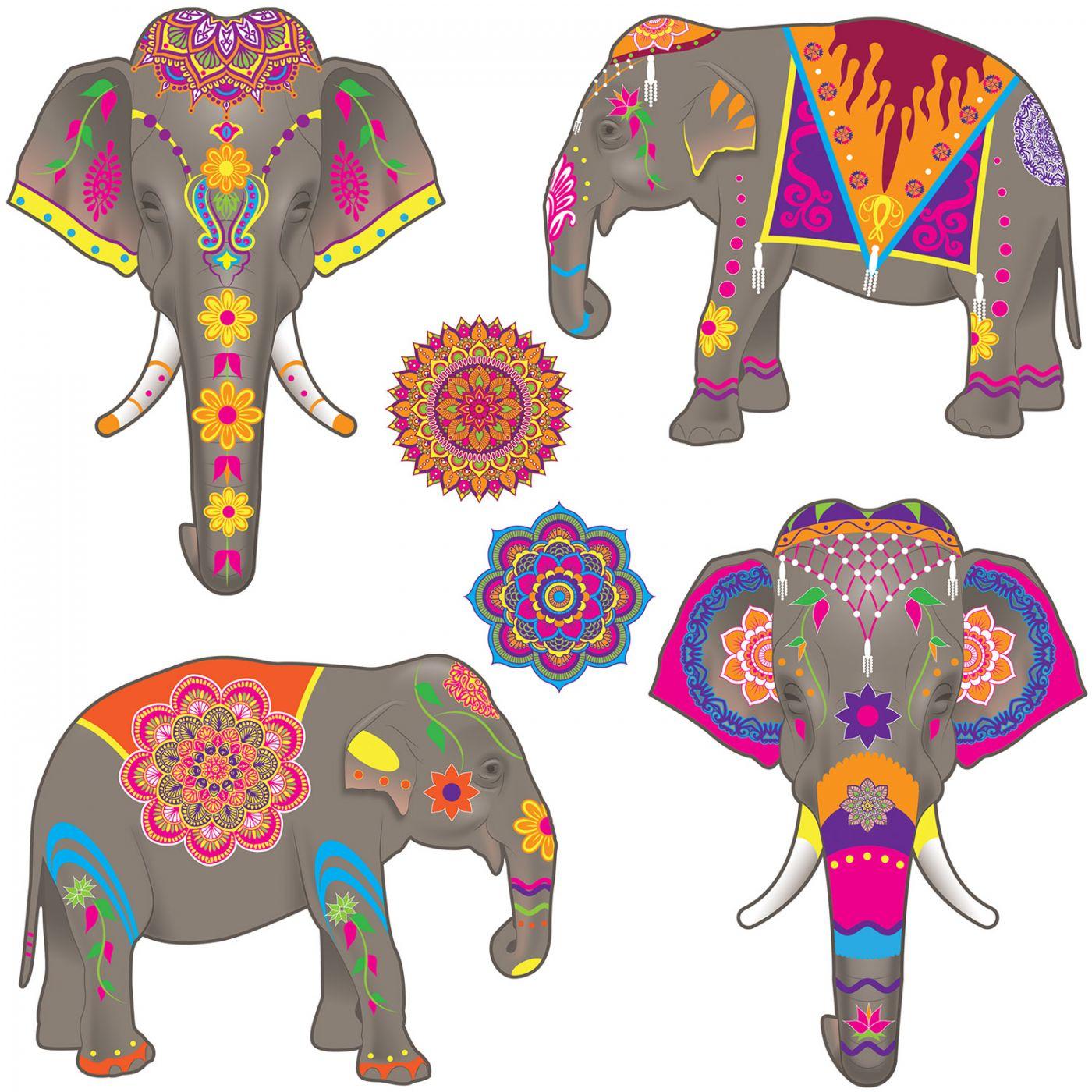 Elephant Cutouts image