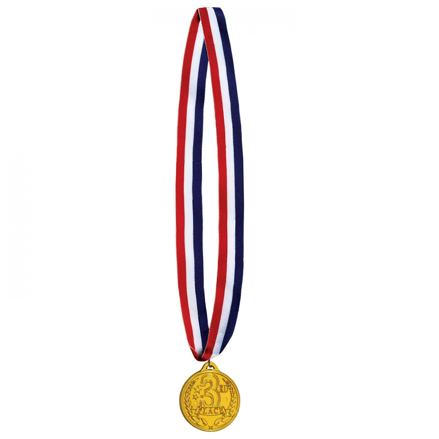 Image of 3rd Place Medal w/Ribbon