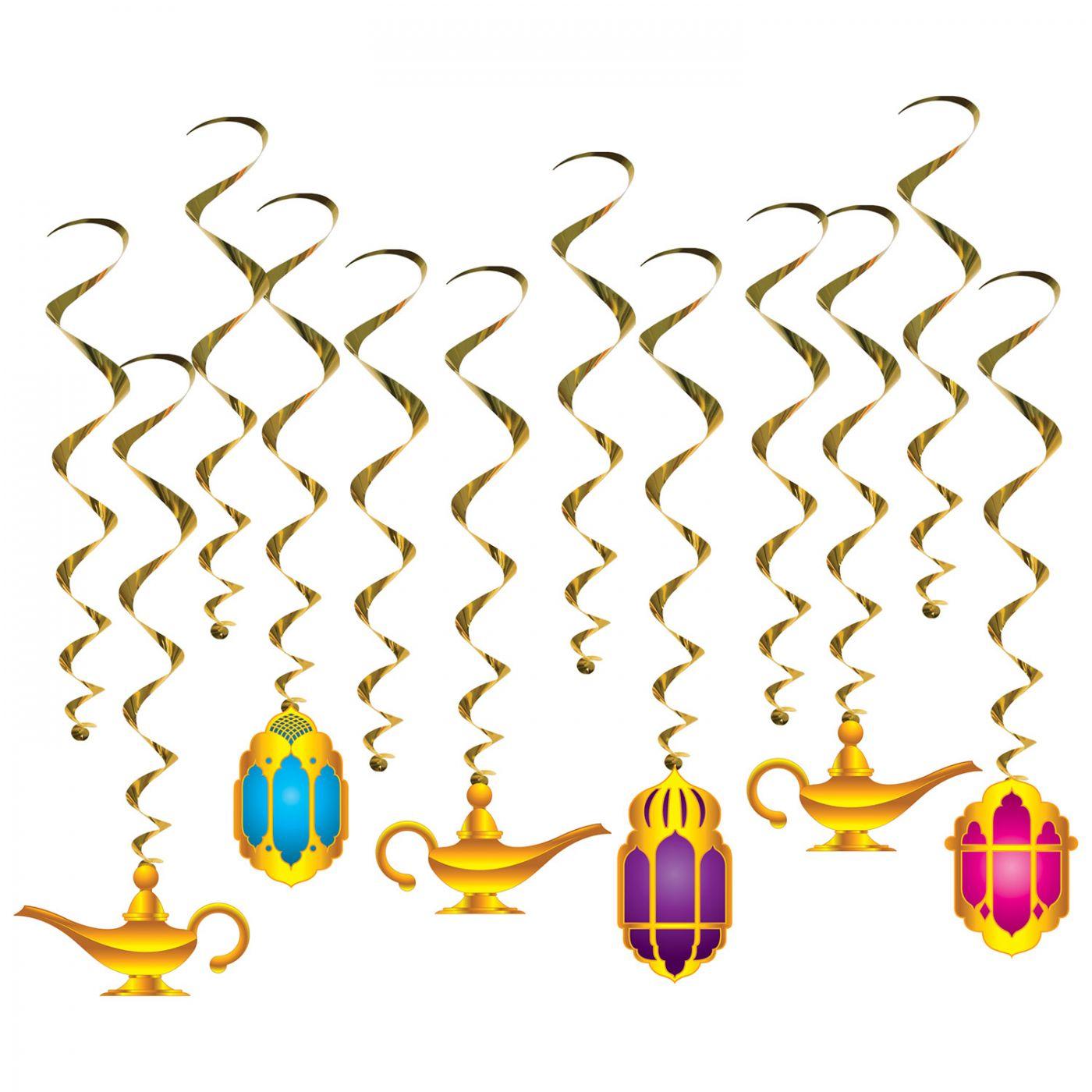 Lantern & Lamp Whirls (6) image