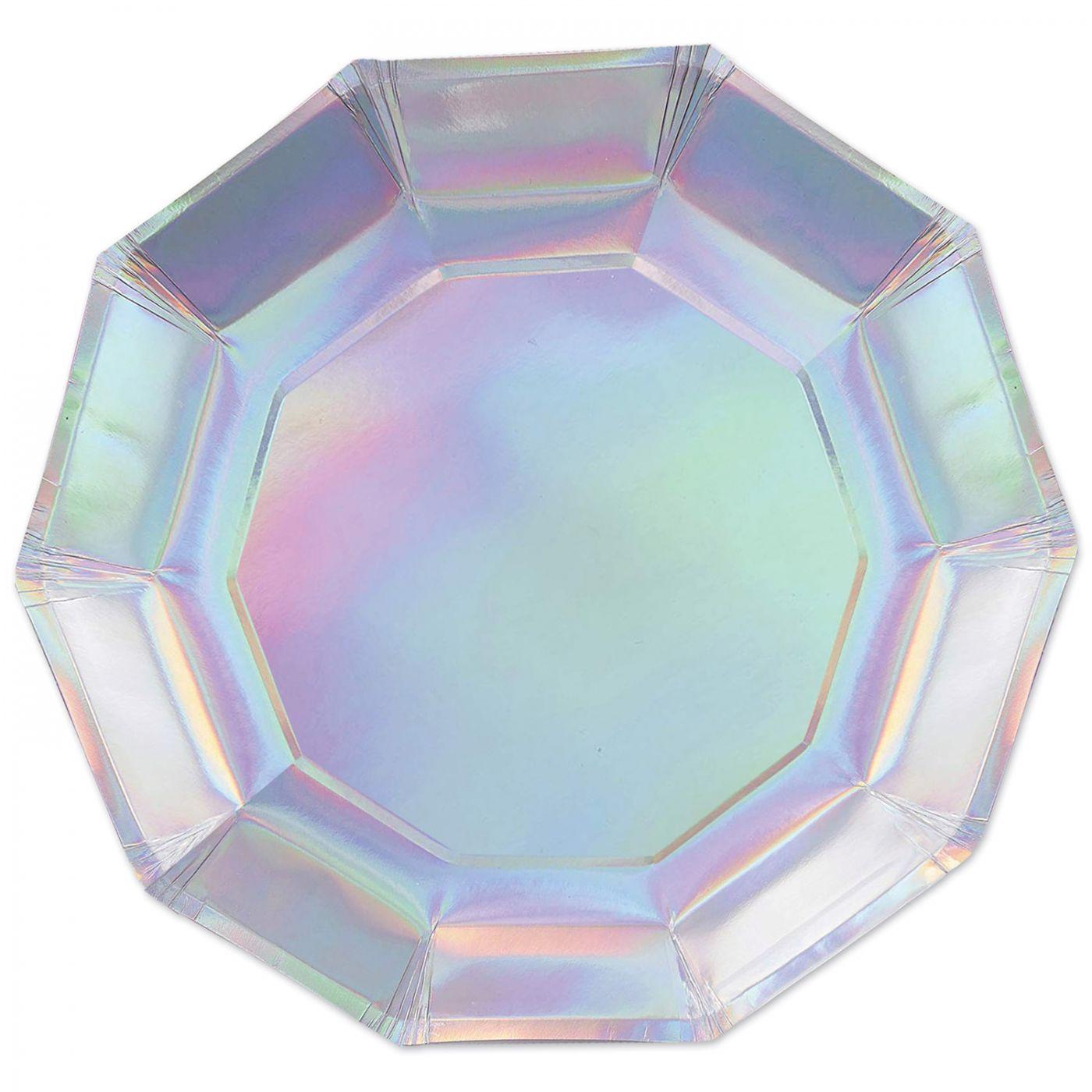Iridescent Decagon Plates image