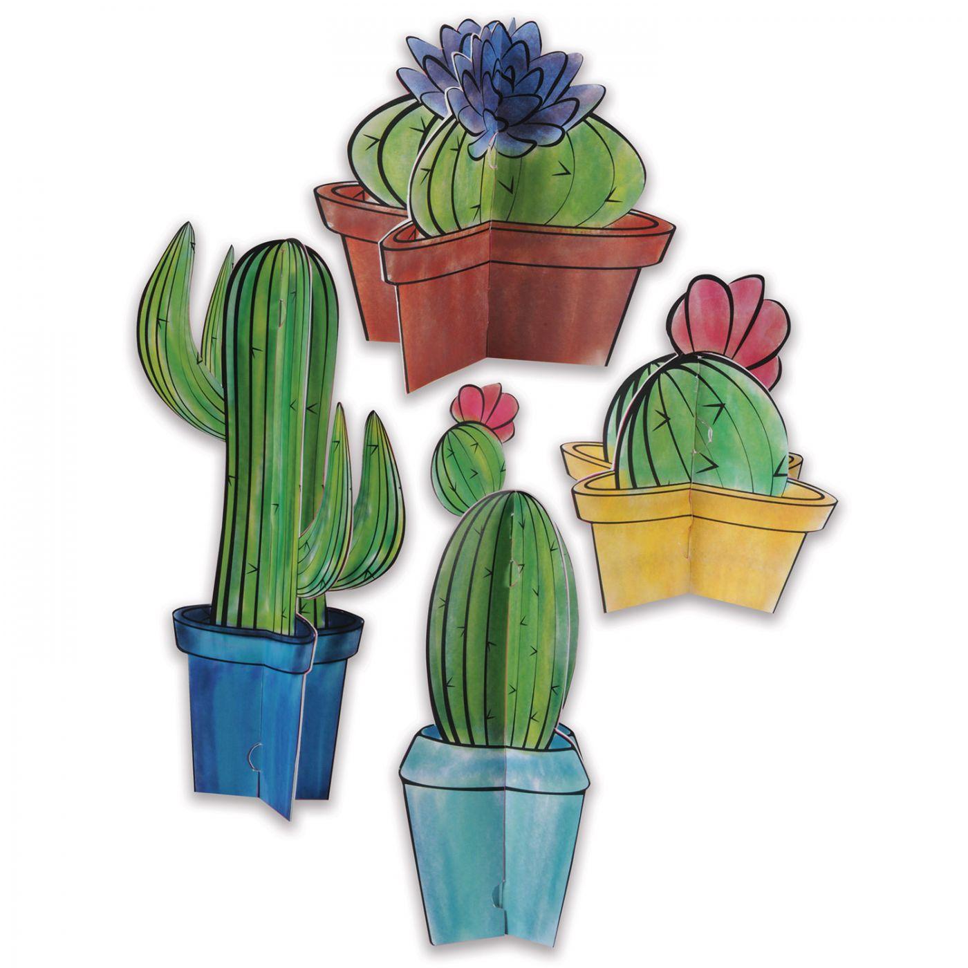 3-D Cactus Centerpieces image