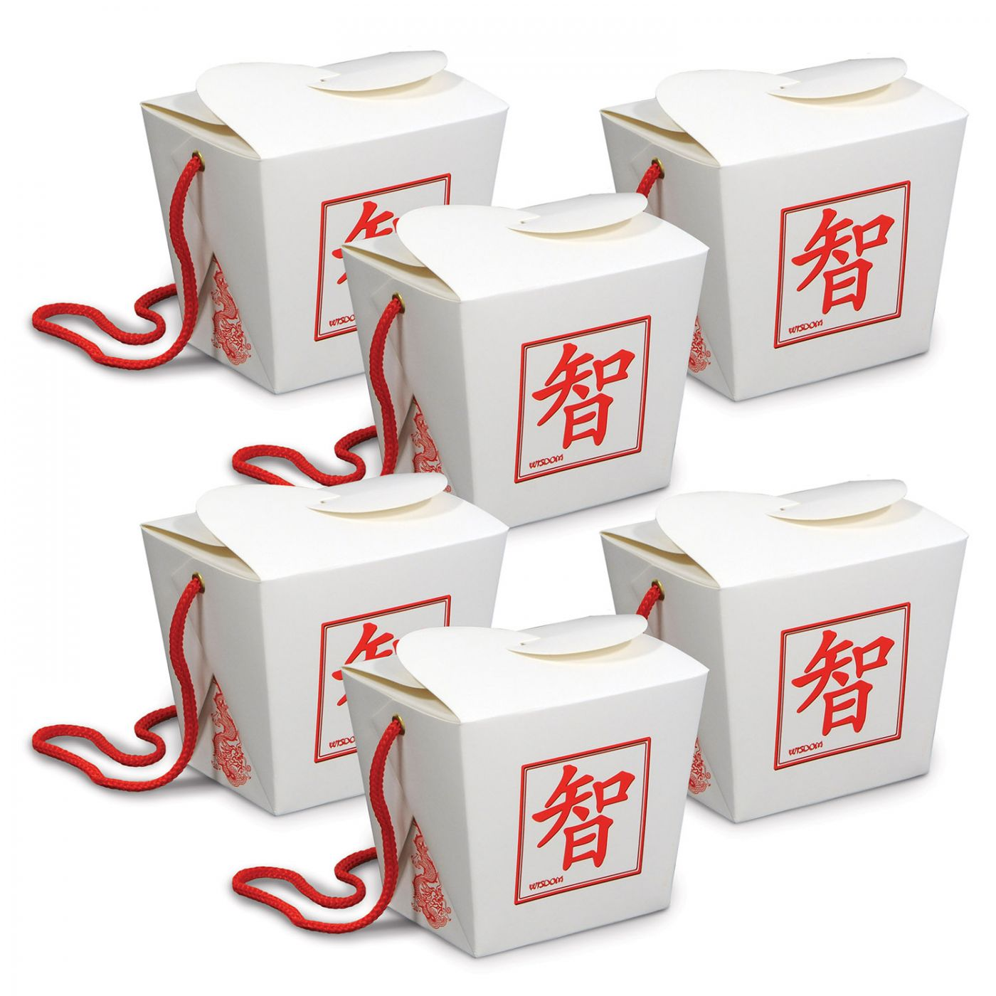 Asian Favor Boxes - Pint image