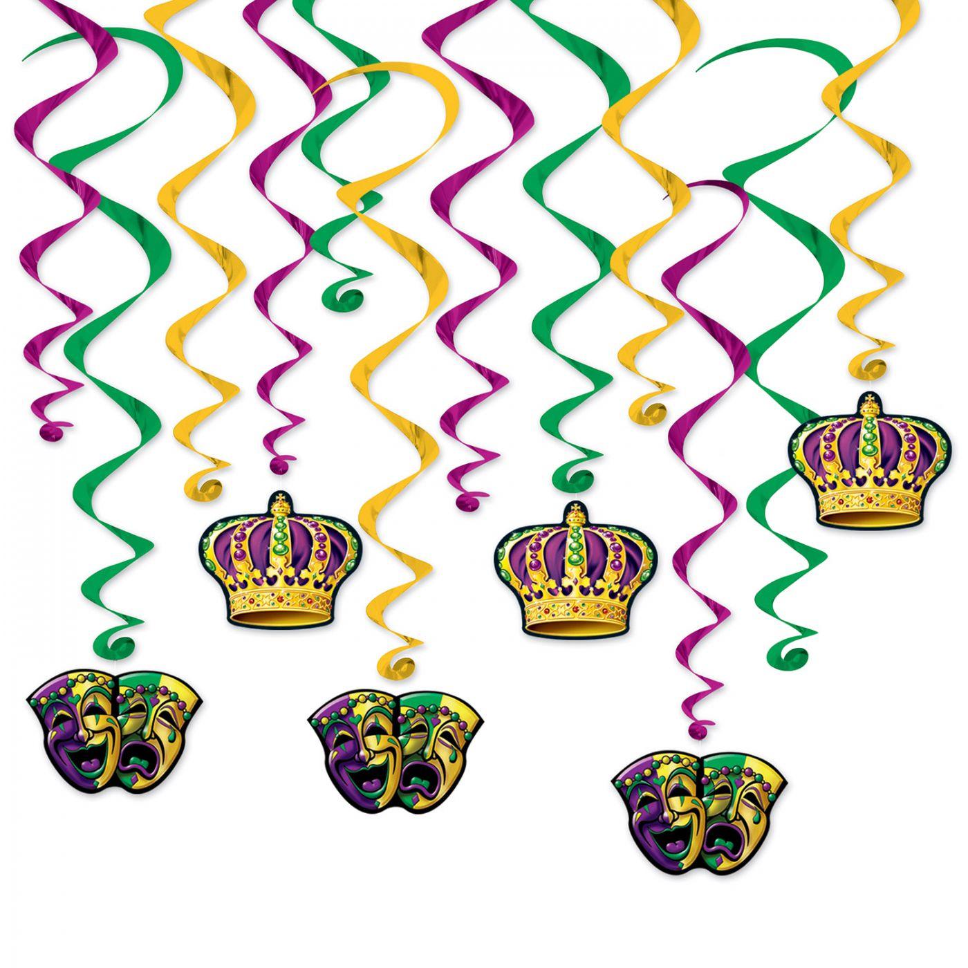 Mardi Gras Whirls image