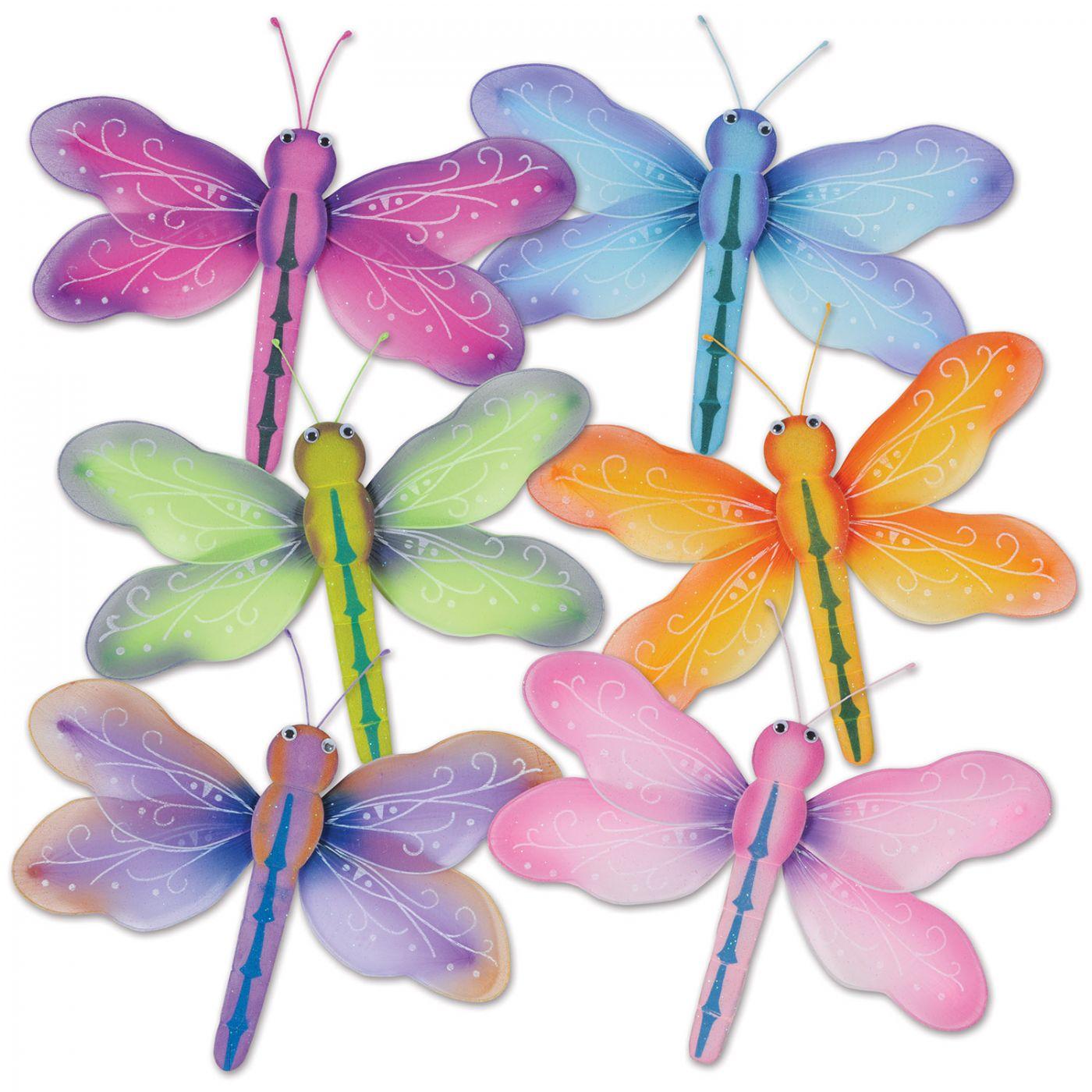 Nylon Dragonflies image