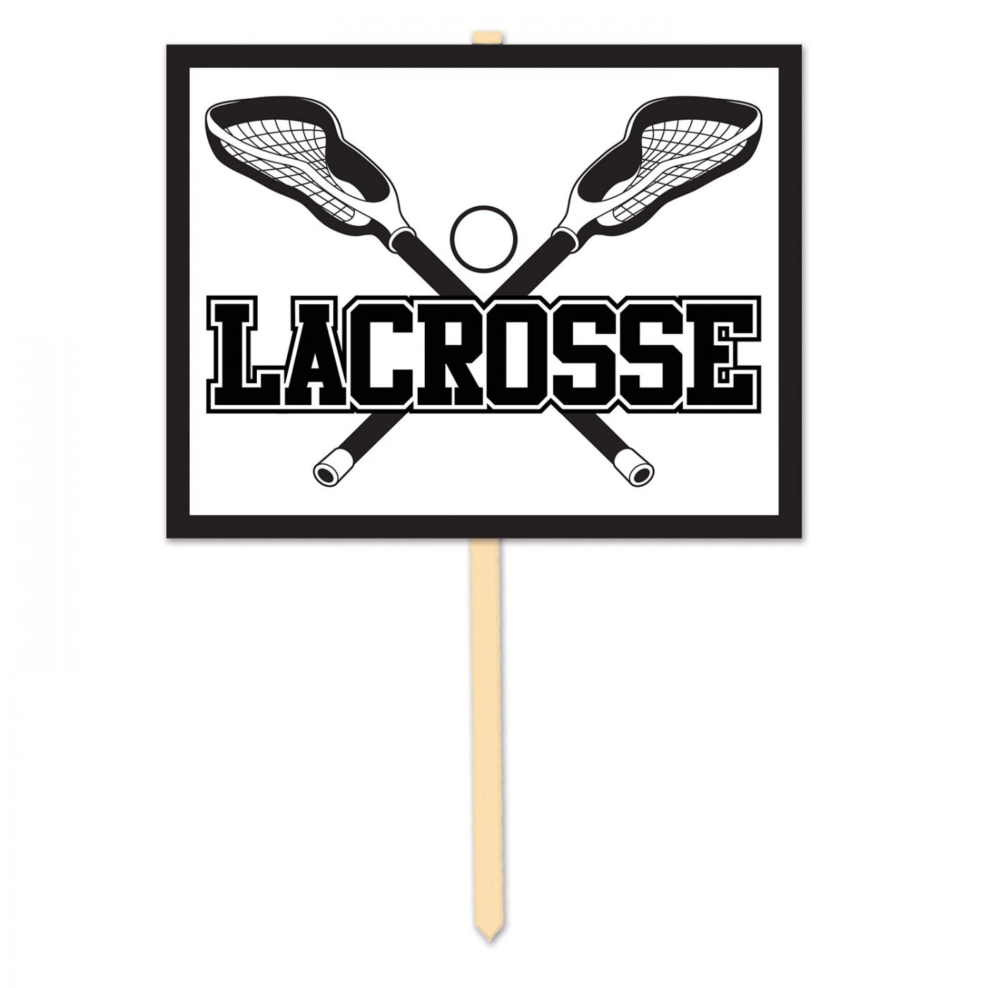 Lacrosse Yard Sign (6) image