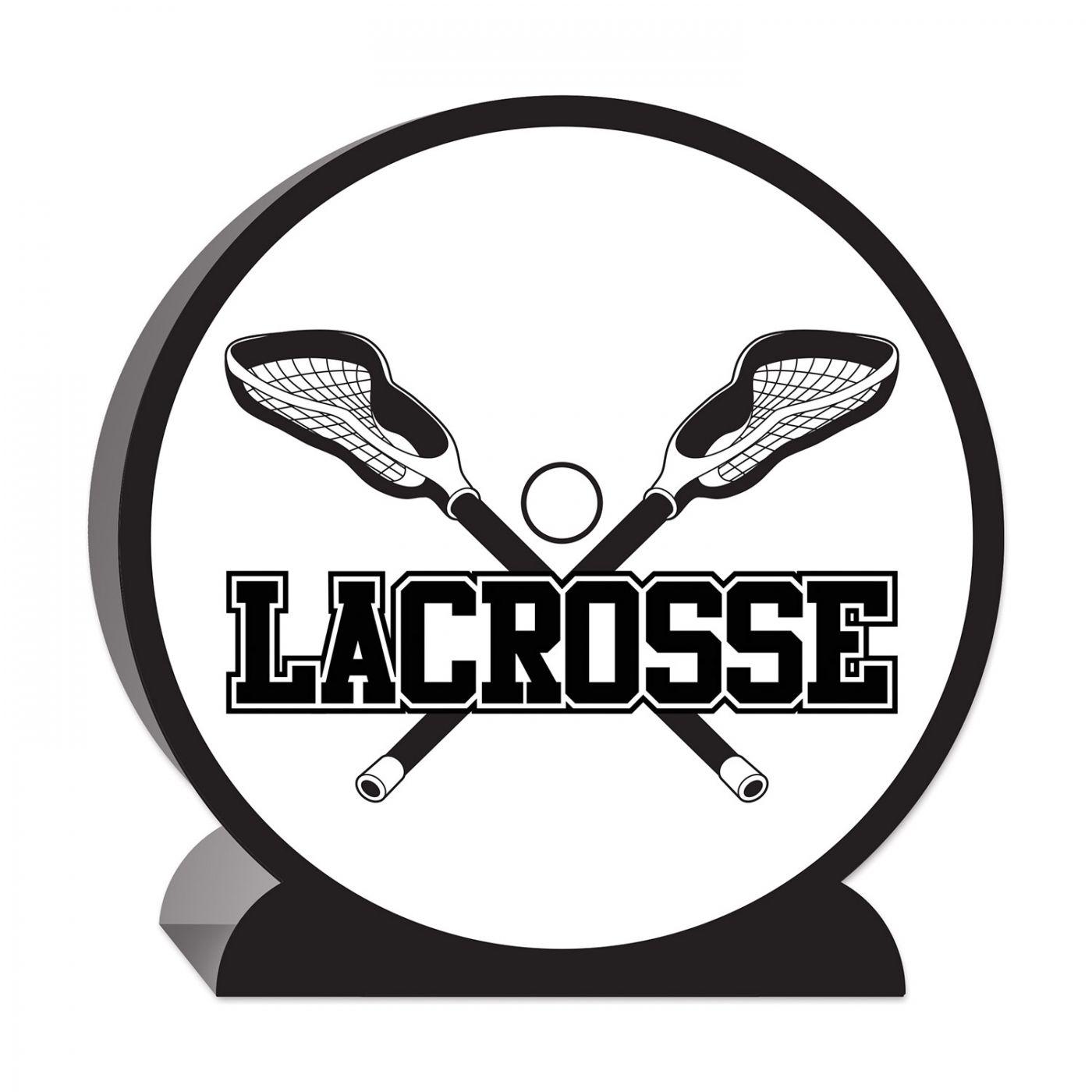 Image of 3-D Lacrosse Centerpiece