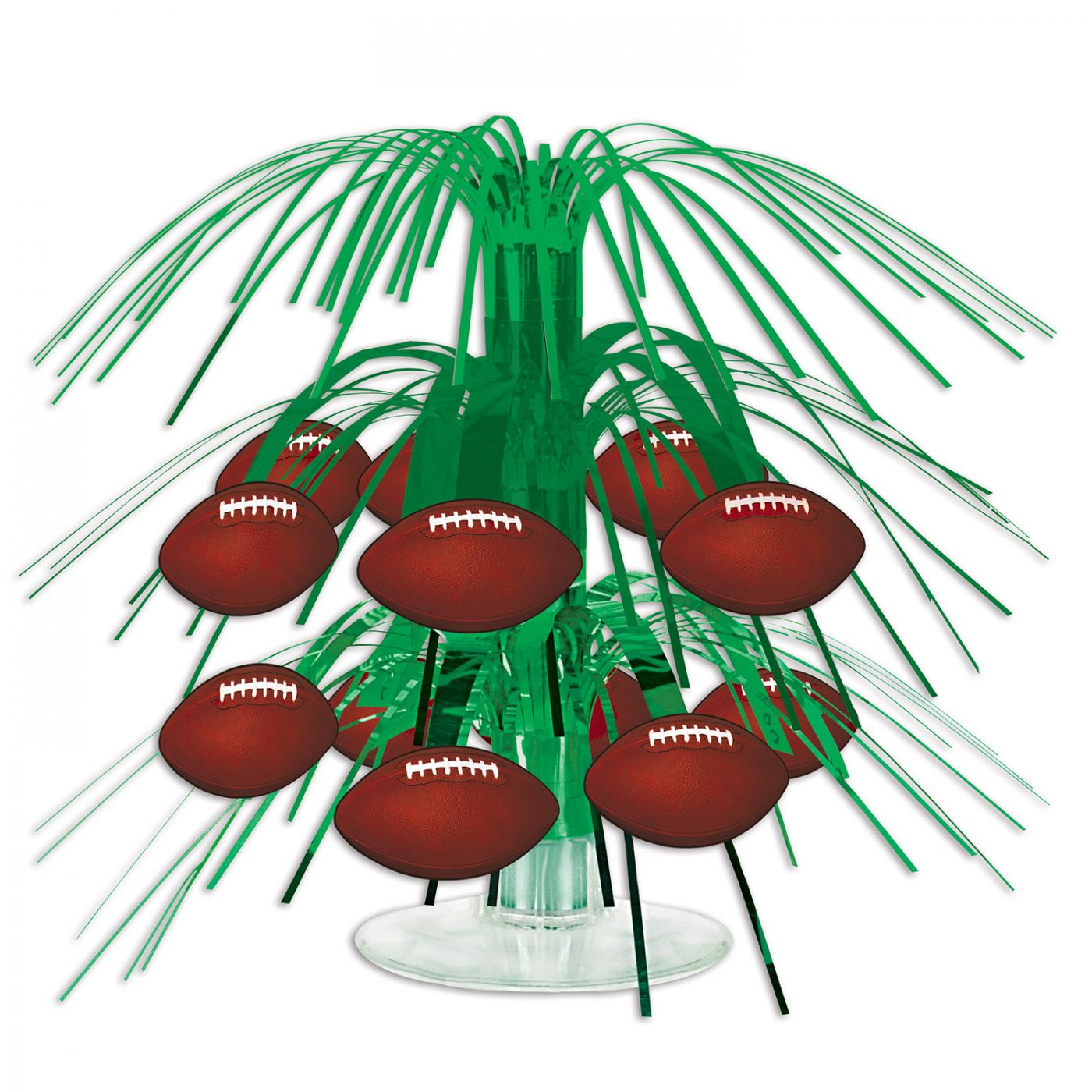 Football Mini Cascade Centerpiece image