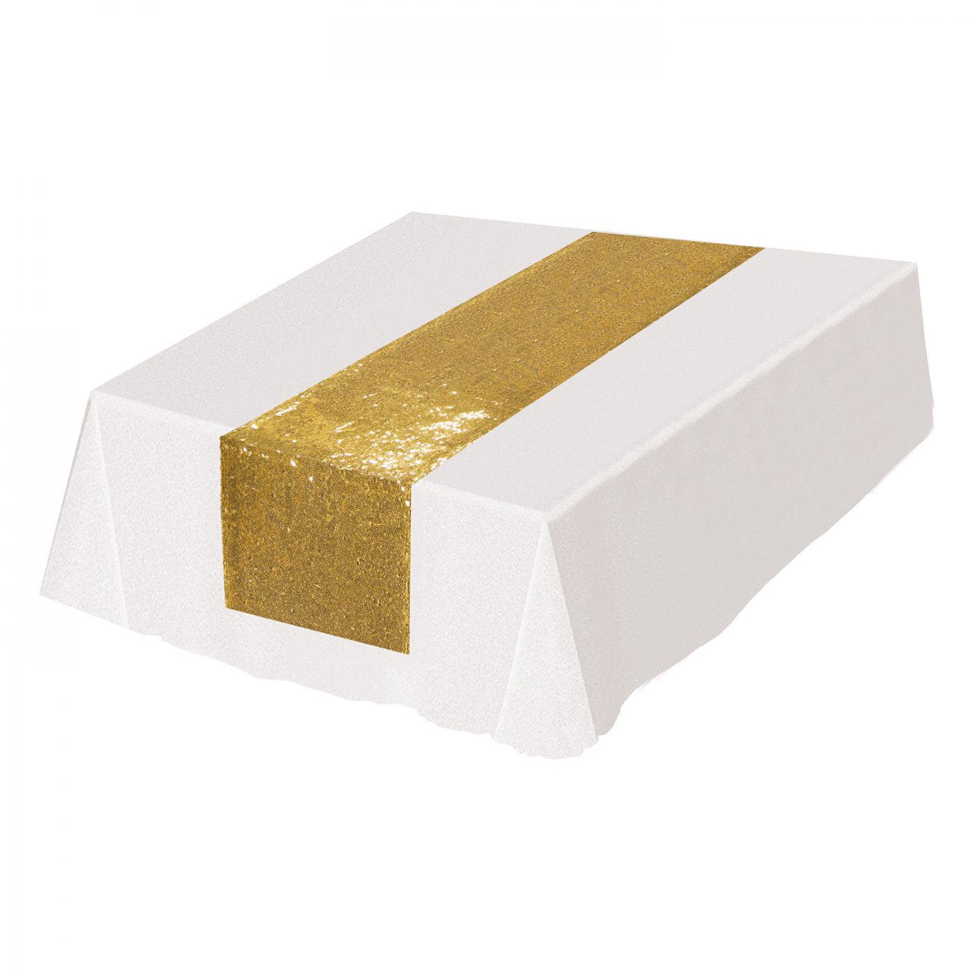Sequined Table Runner image