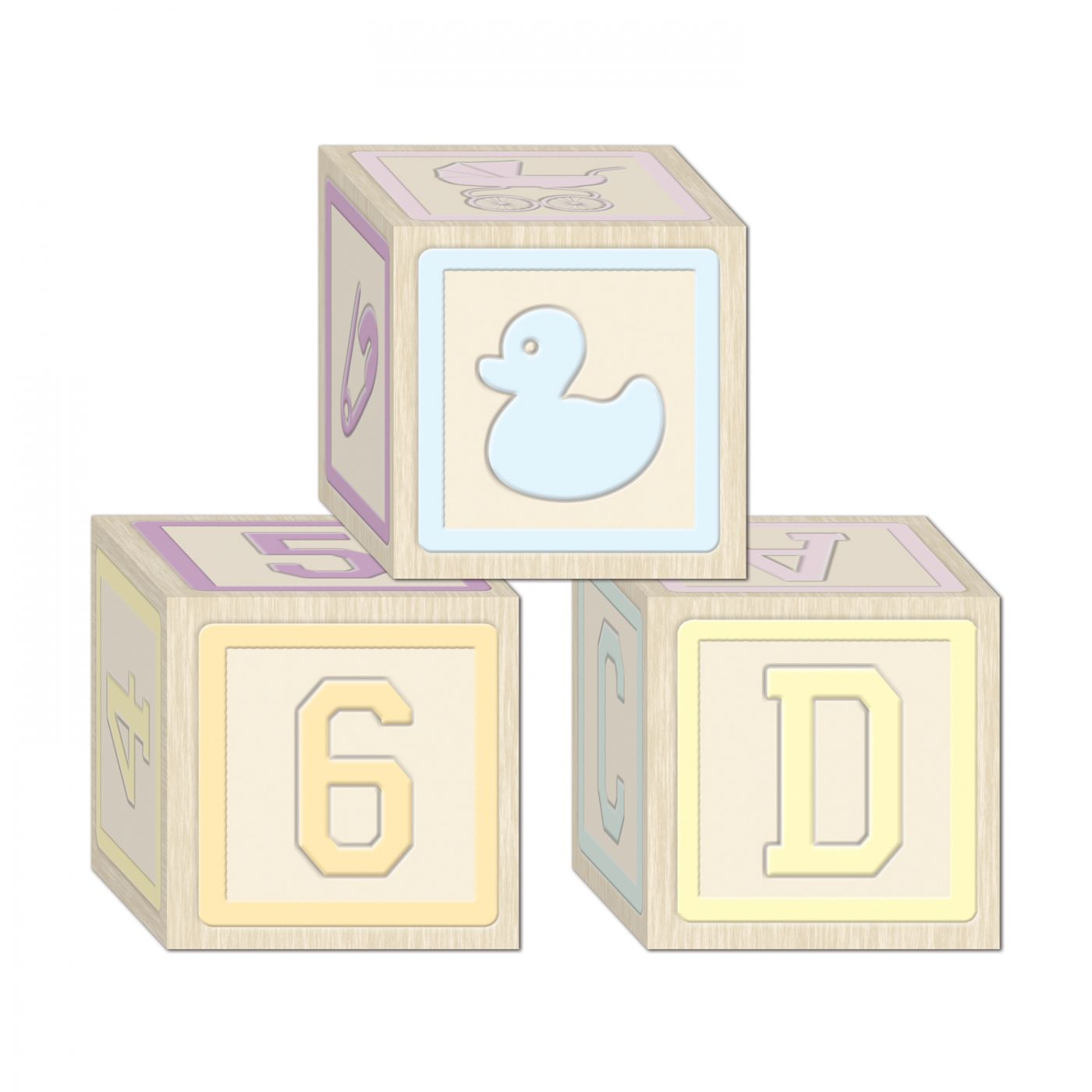 Image of Baby Blocks Favor Boxes