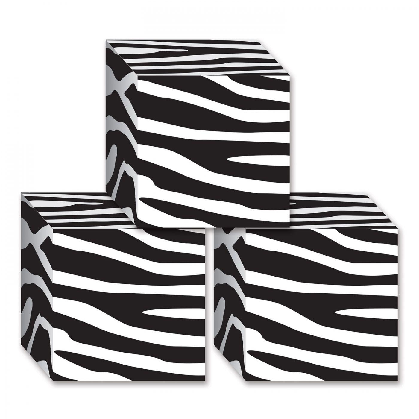Zebra Print Favor Boxes image