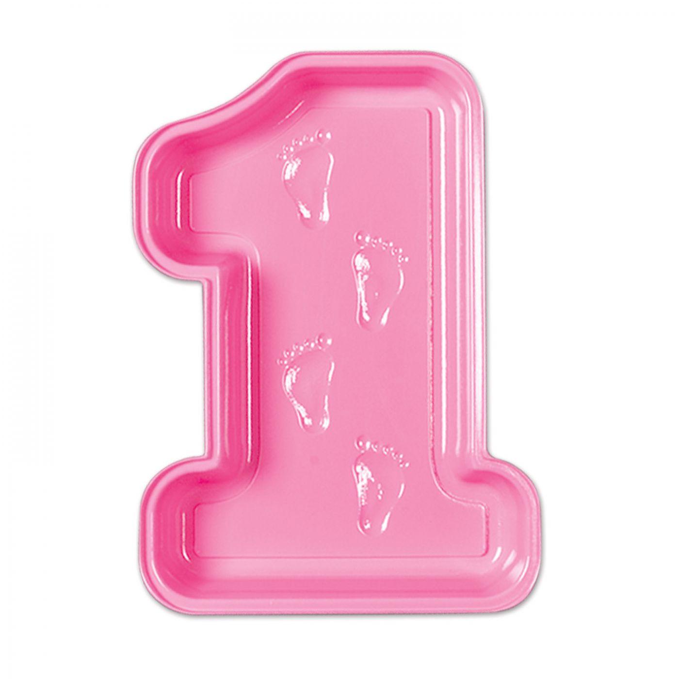 Plastic Baby's 1st Birthday Tray (24) image