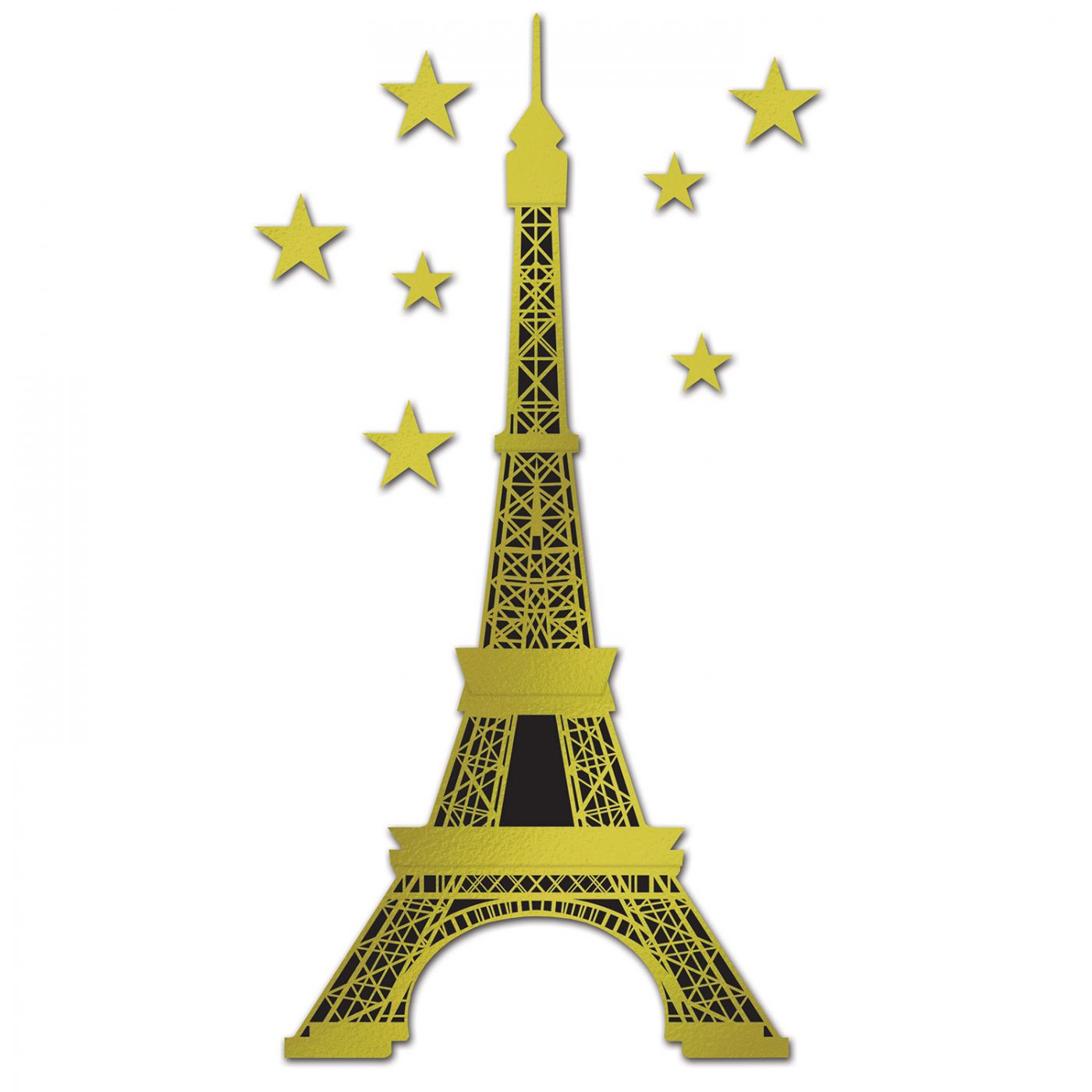 Jointed Foil Eiffel Tower image