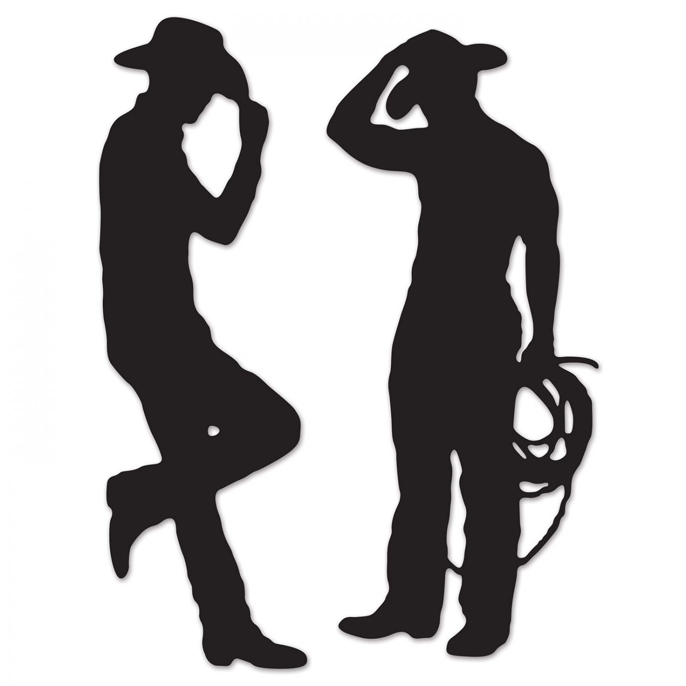 Cowboy Silhouettes image