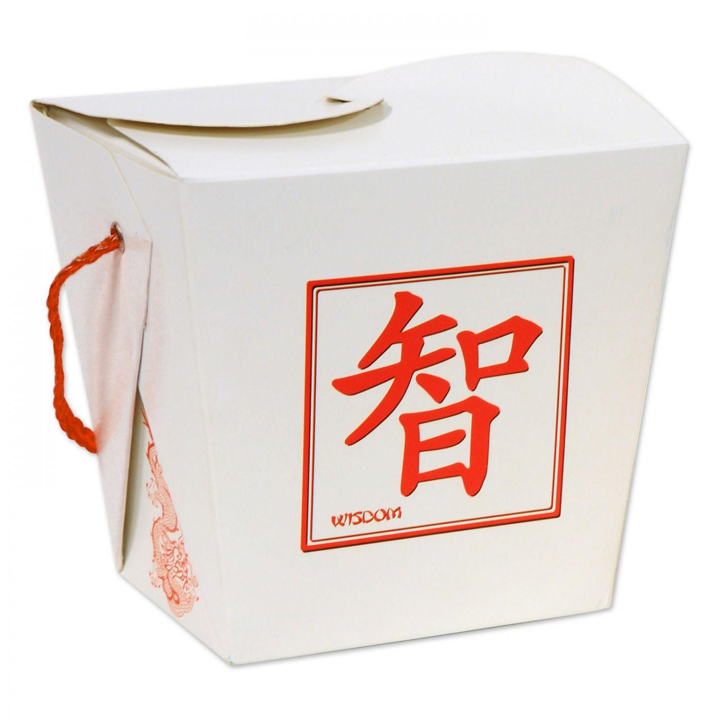 Asian Favor Box - Quart (24) image