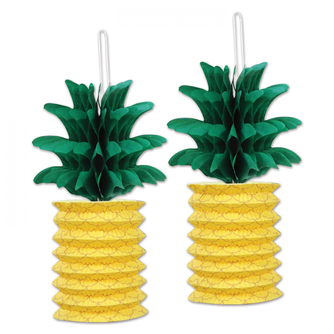 Pineapple Paper Lanterns (6) image