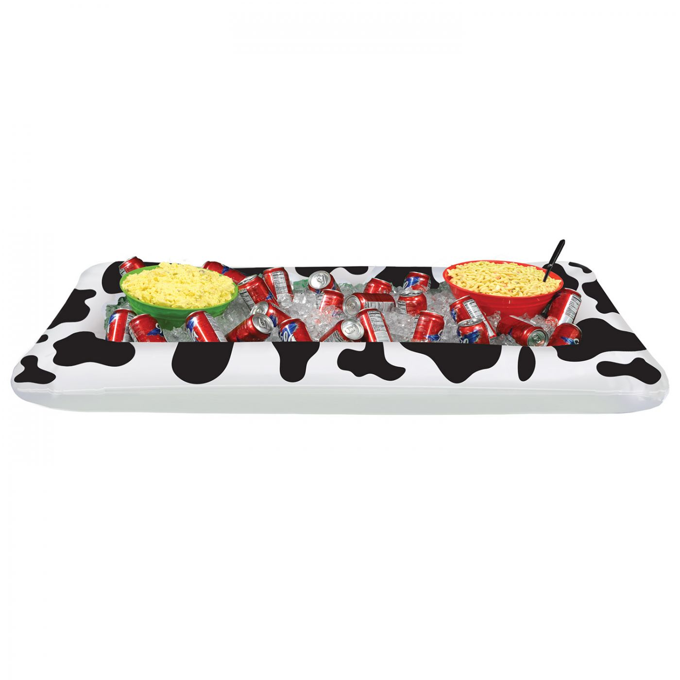 Inflatable Cow Print Buffet Cooler (6) image