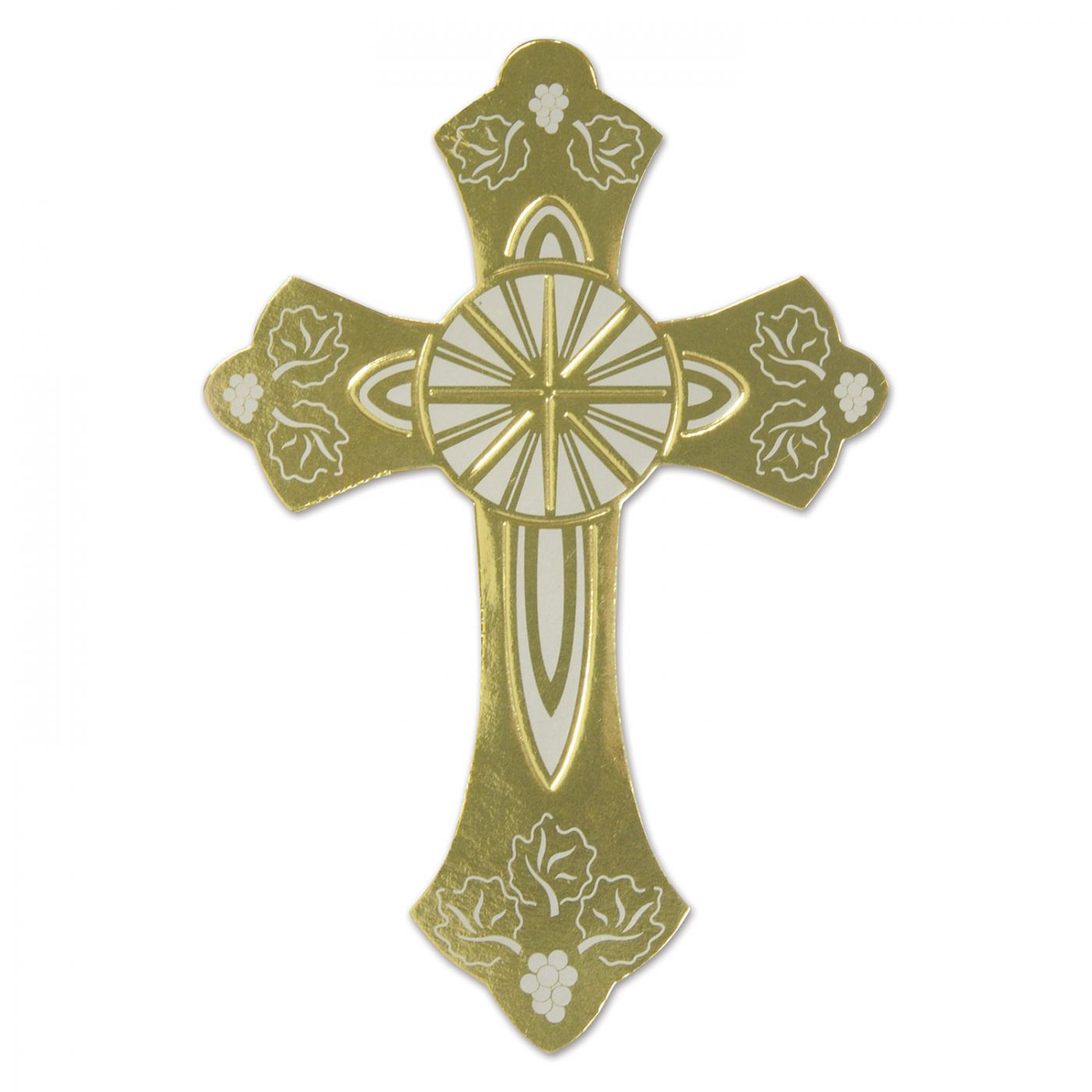 Gold Foil Cross Silhouette (24) image