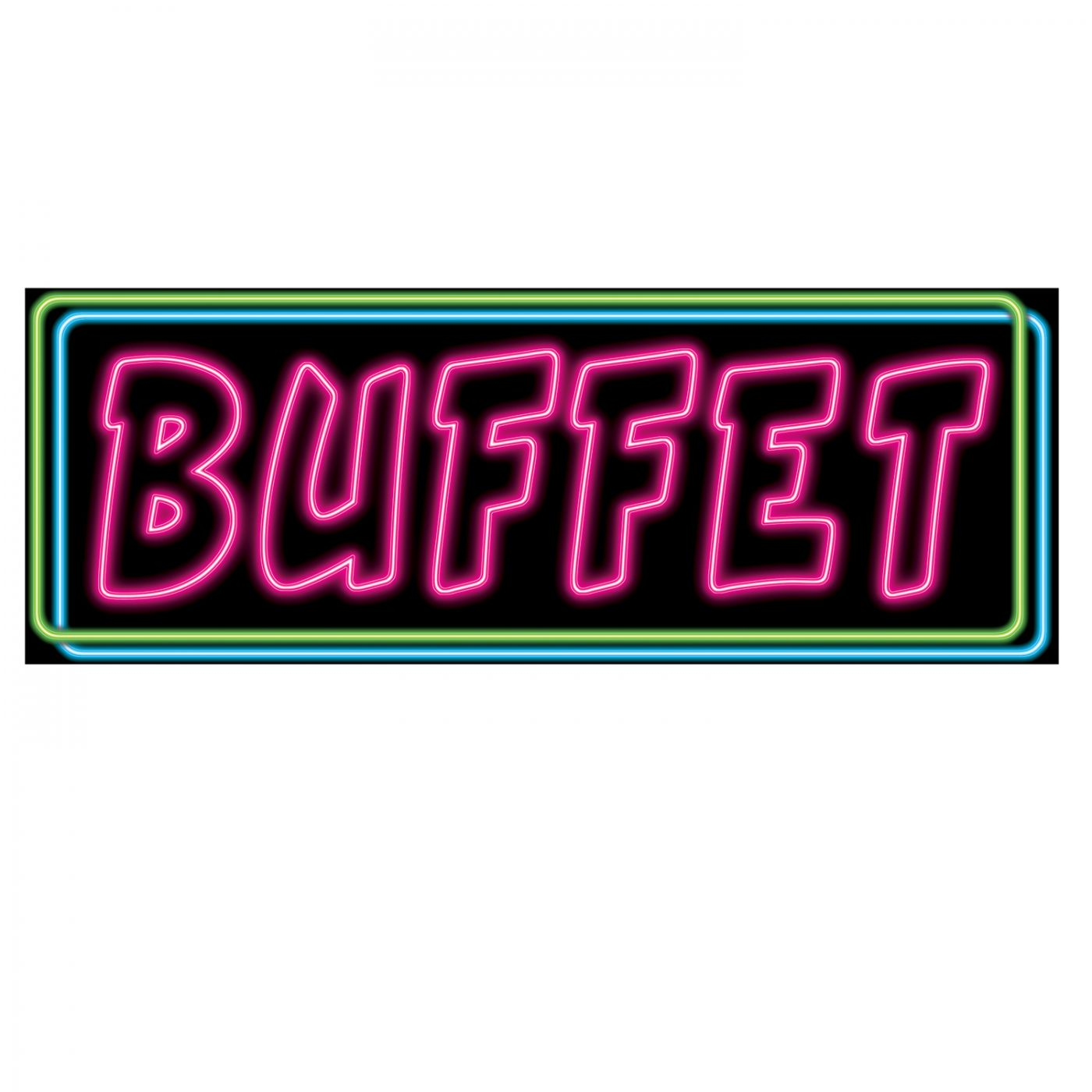 Neon Buffet Sign (24) image