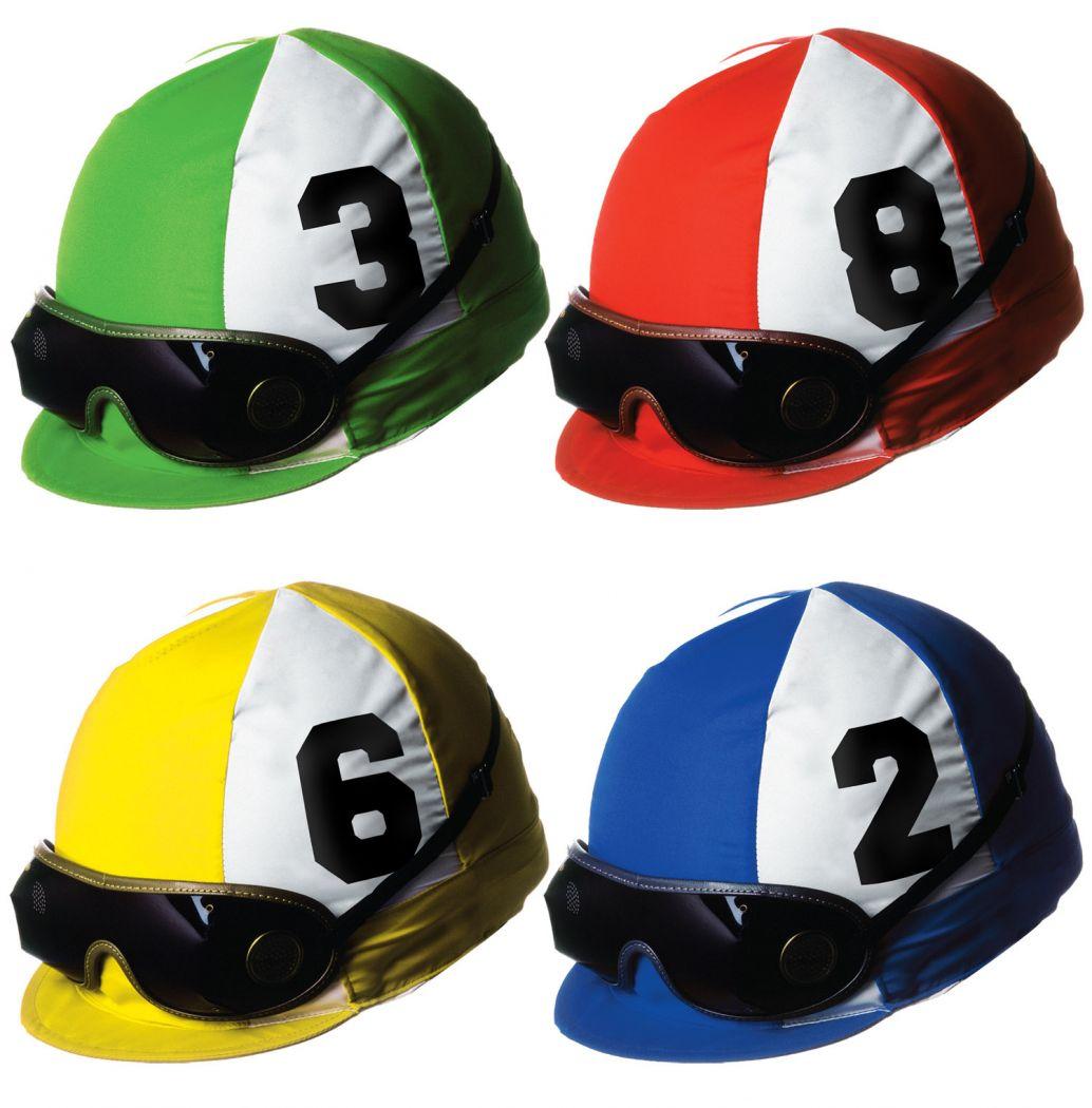 Jockey Helmet Cutouts image