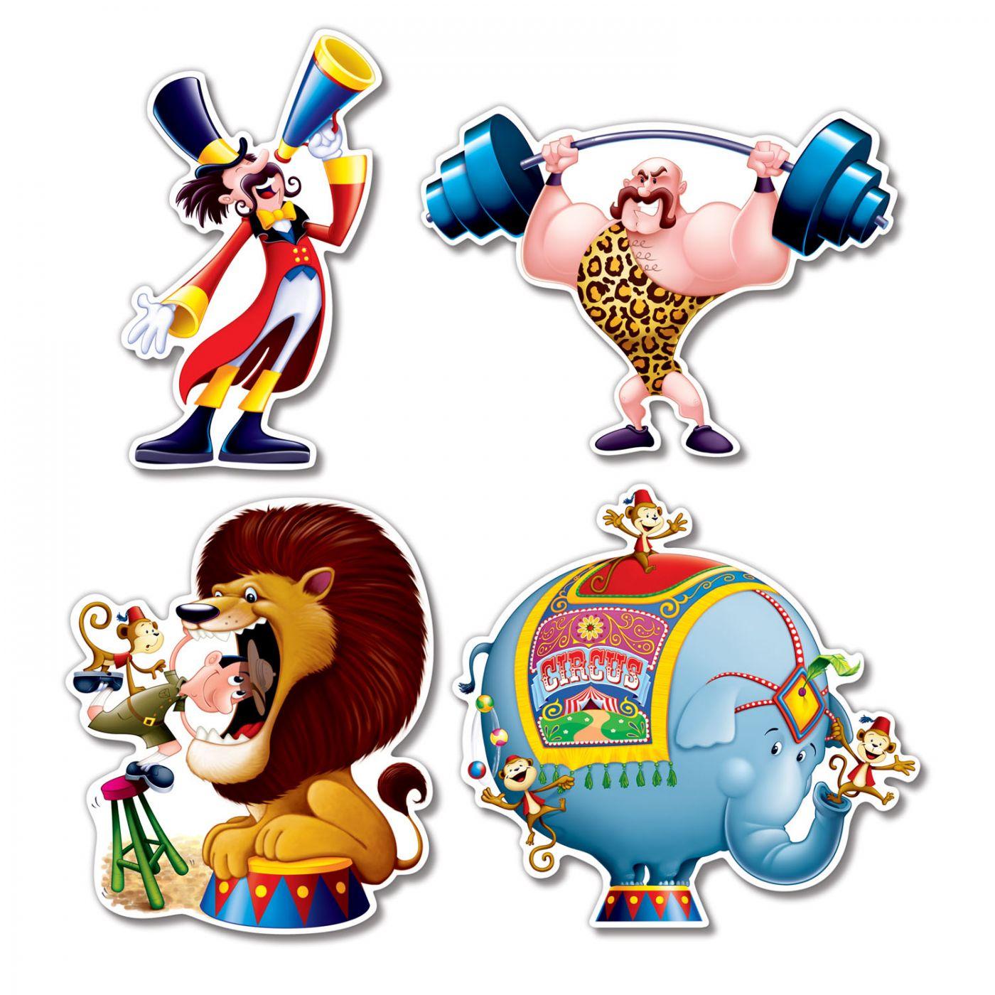 Circus Cutouts image