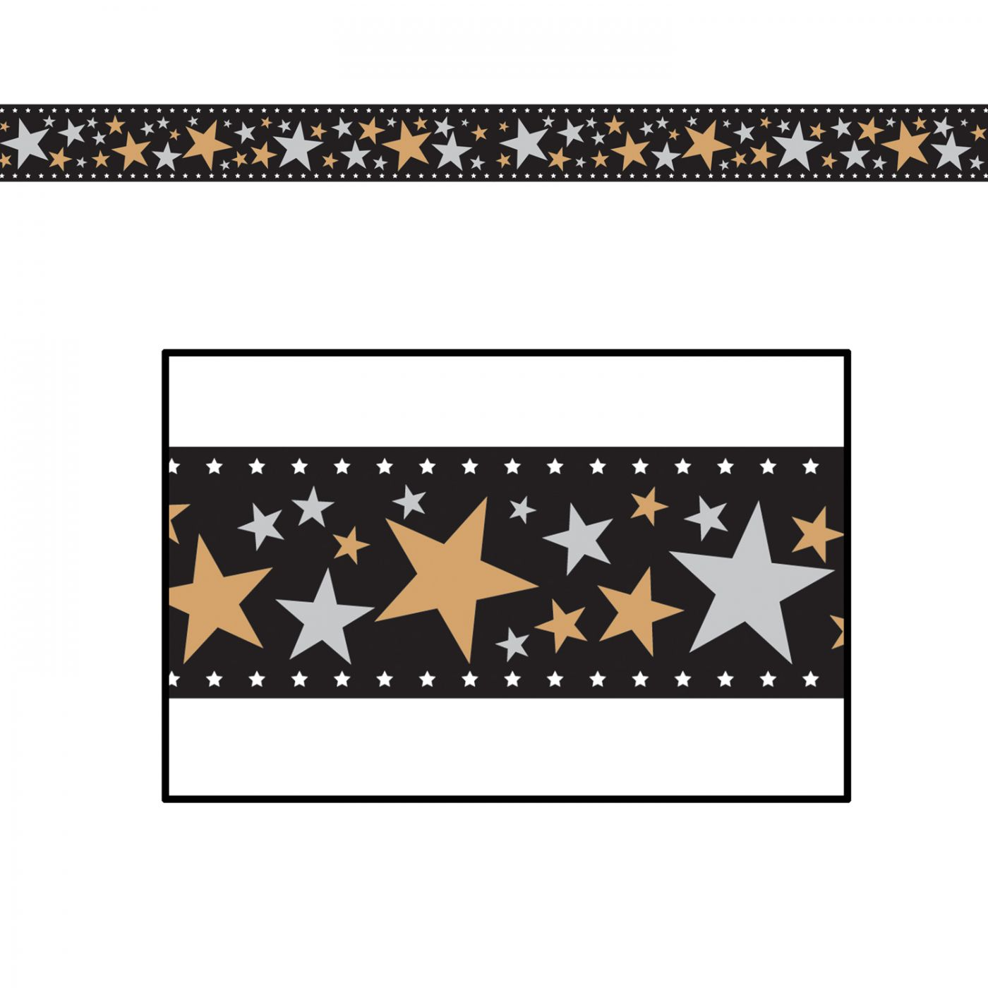 Star Filmstrip Poly Decorating  Material image