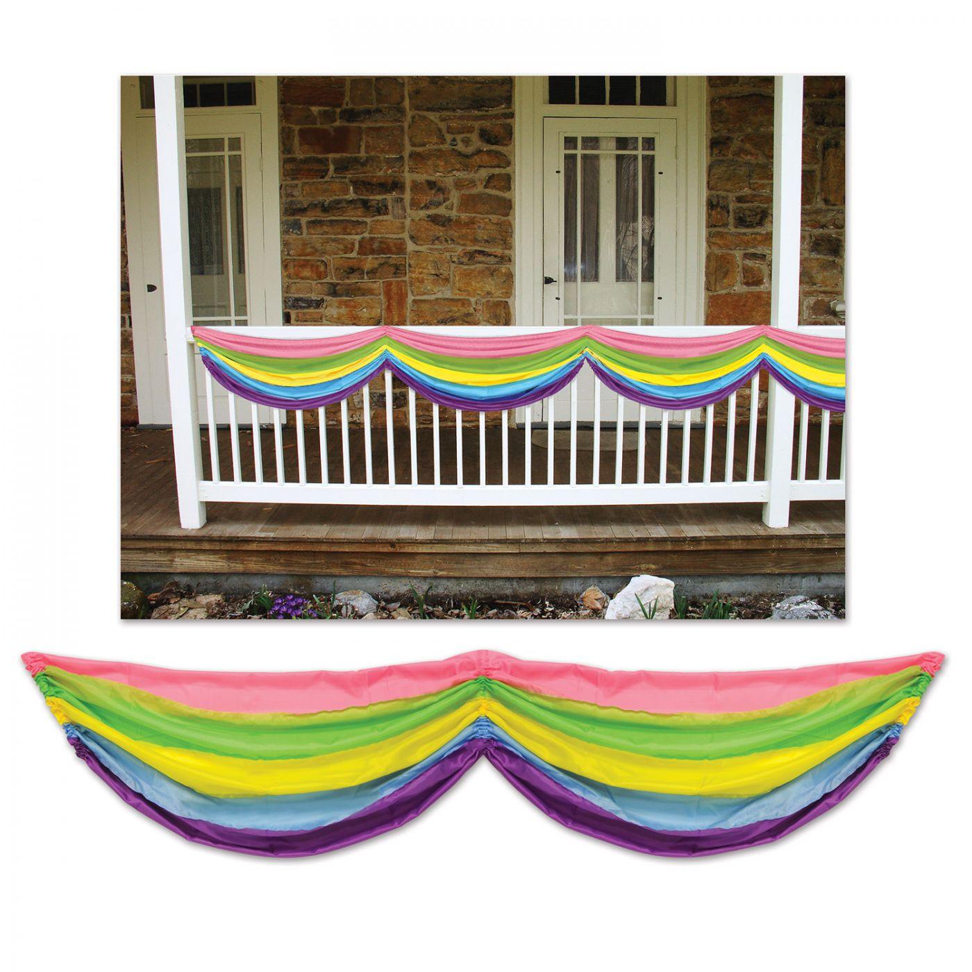 Spring Rainbow Fabric Bunting (6) image