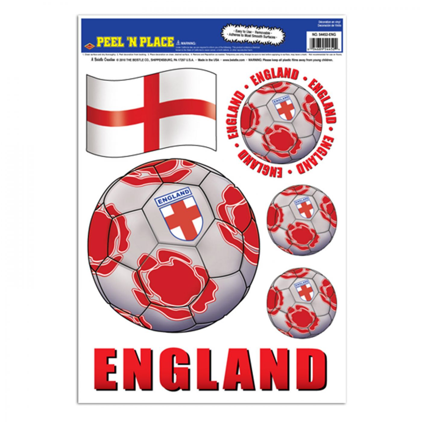 Peel 'N Place - England image