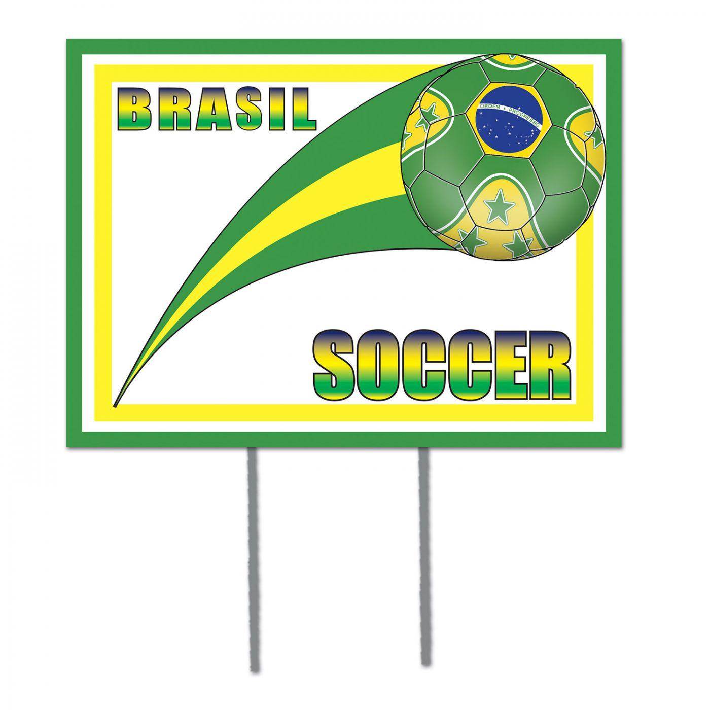 Plastic Yard Sign - Brasil (6) image