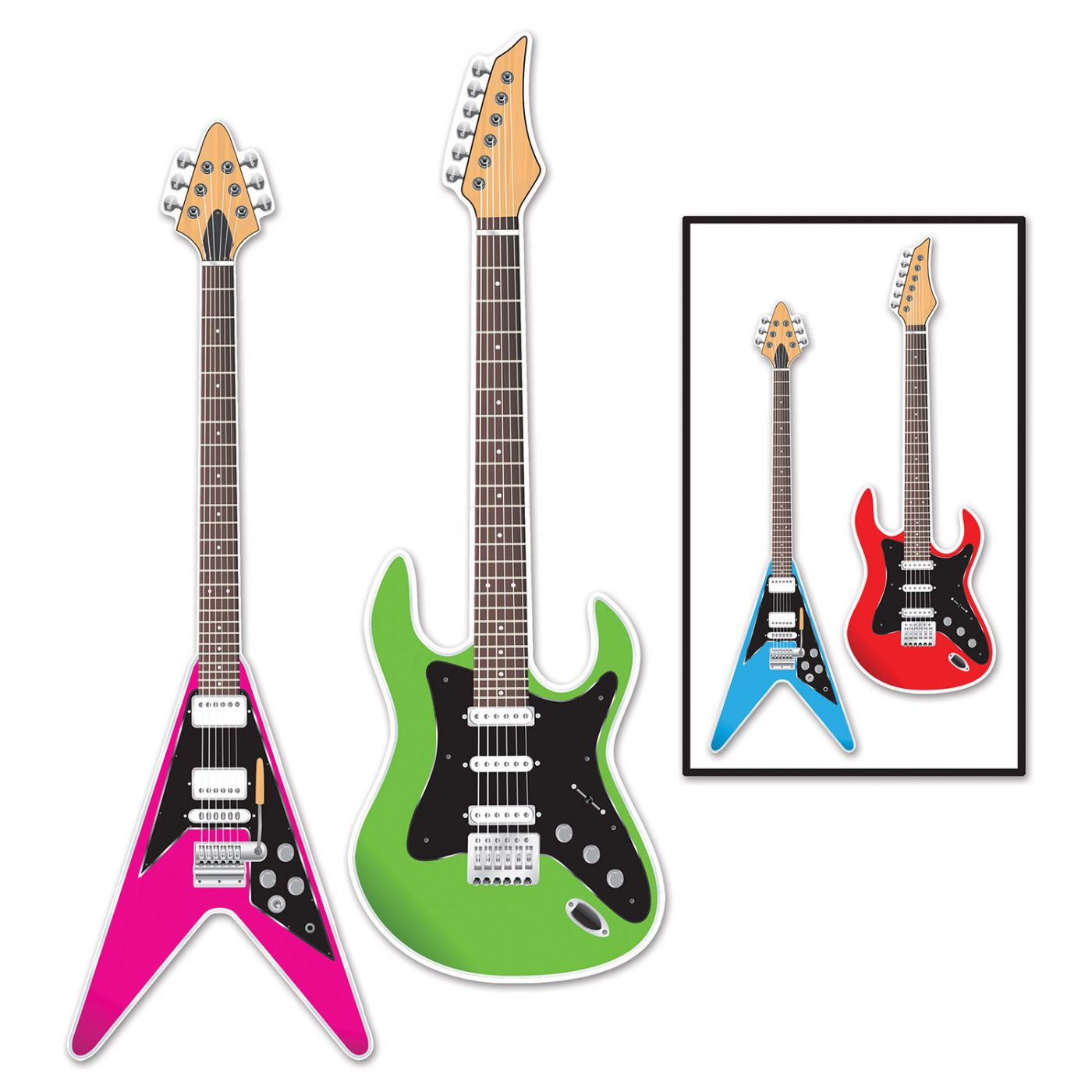 Guitar Cutouts image