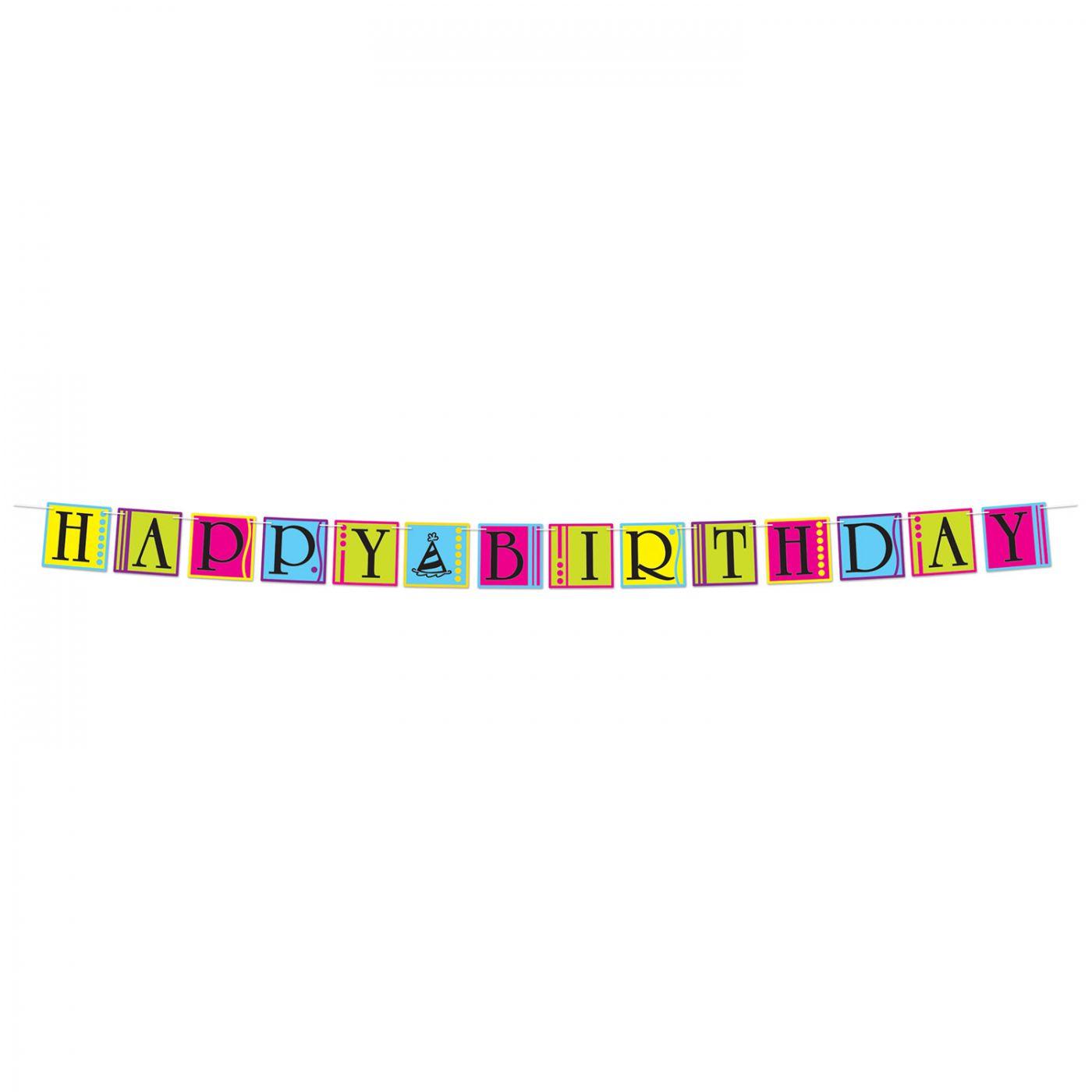 Happy Birthday Streamer image
