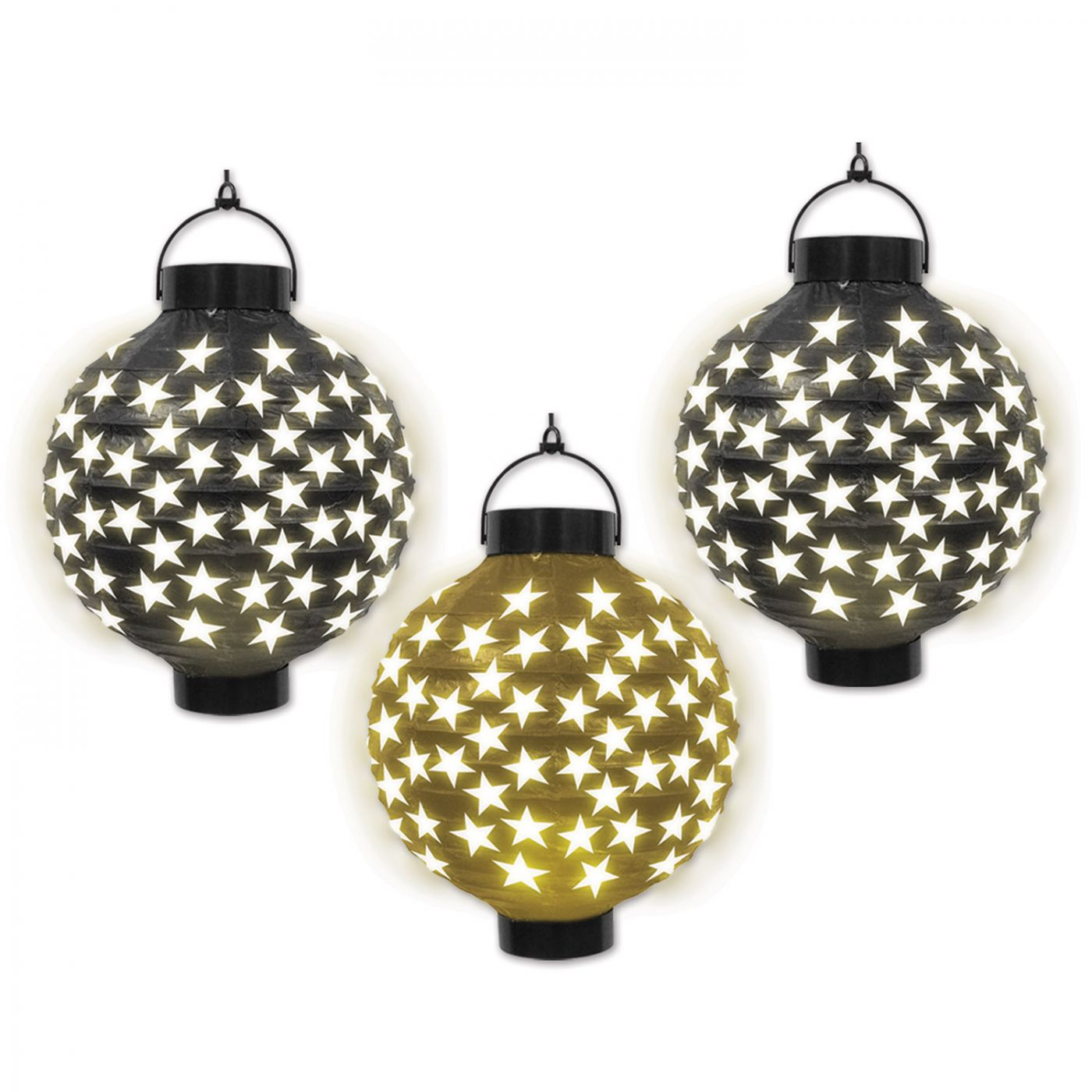 Light-Up Paper Lanterns (6) image