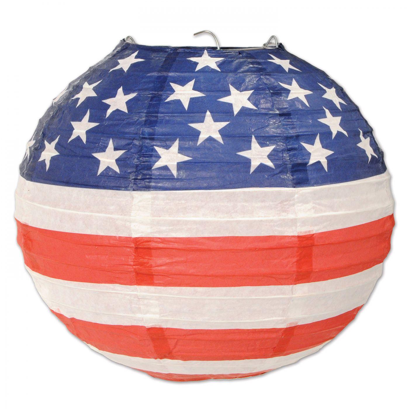 Patriotic Paper Lanterns (6) image