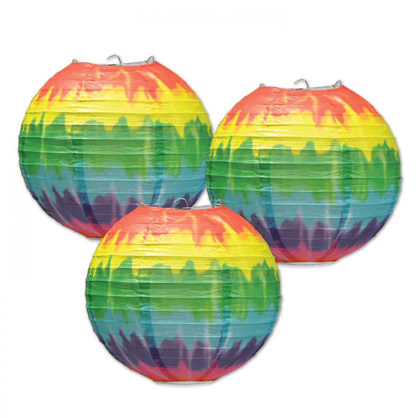 Tie-Dyed Paper Lanterns (6) image