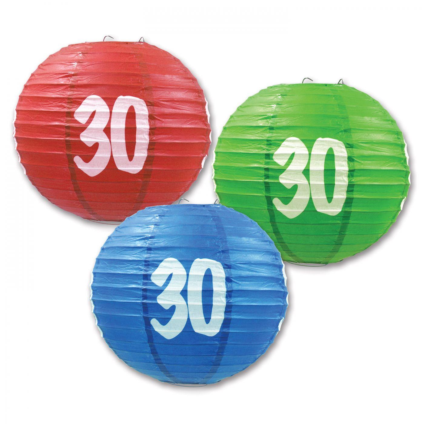 Image of  30  Paper Lanterns (6)