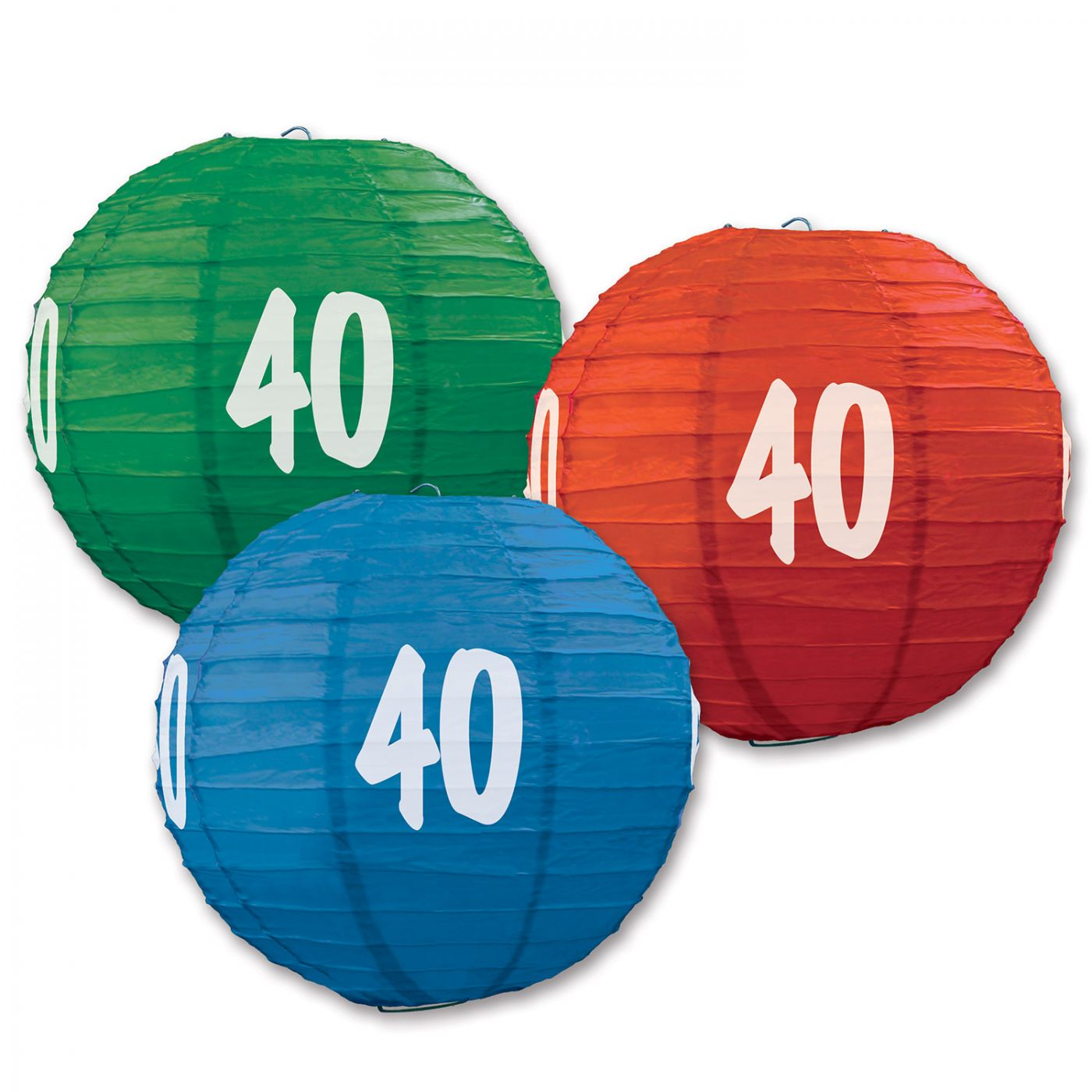 Image of  40  Paper Lanterns (6)
