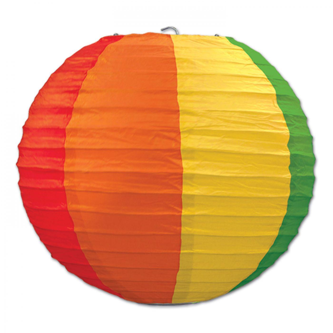 Rainbow Paper Lanterns (6) image
