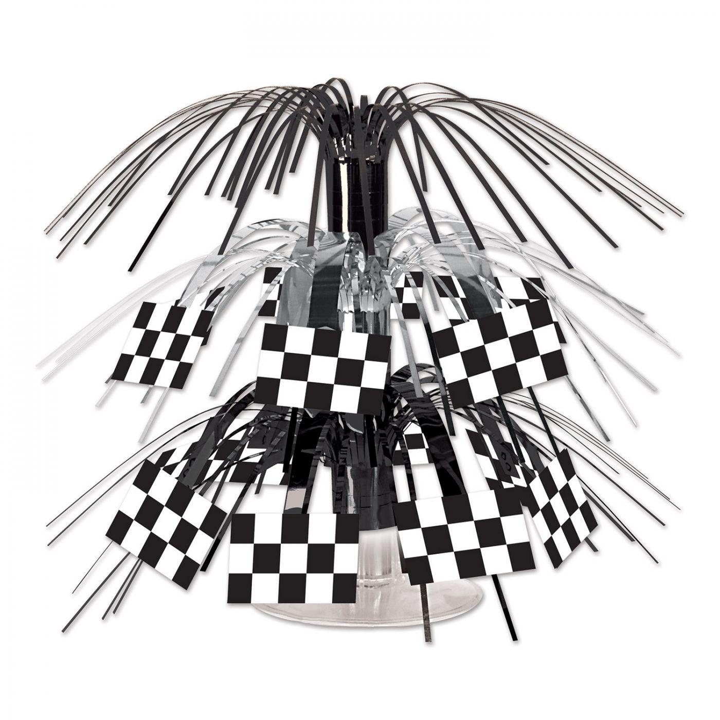 Checkered Flag Mini Cascade Centerpiece image