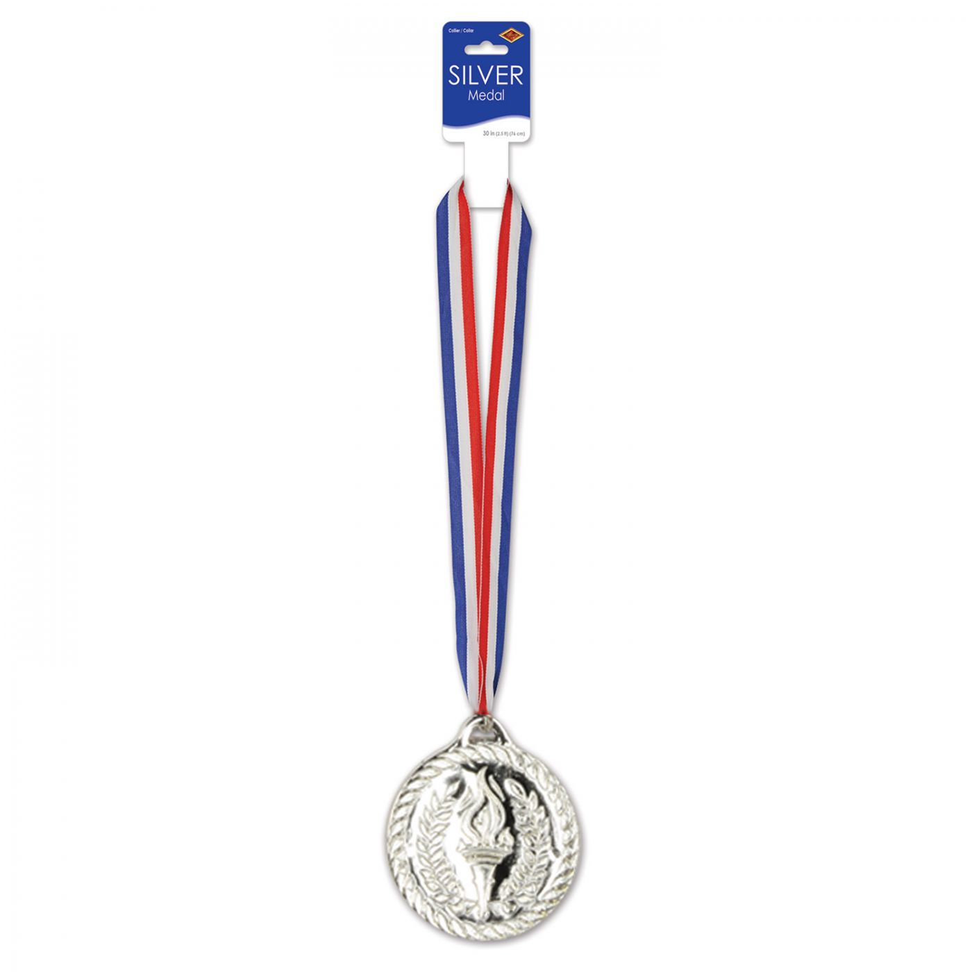 Silver Medal w/Ribbon image